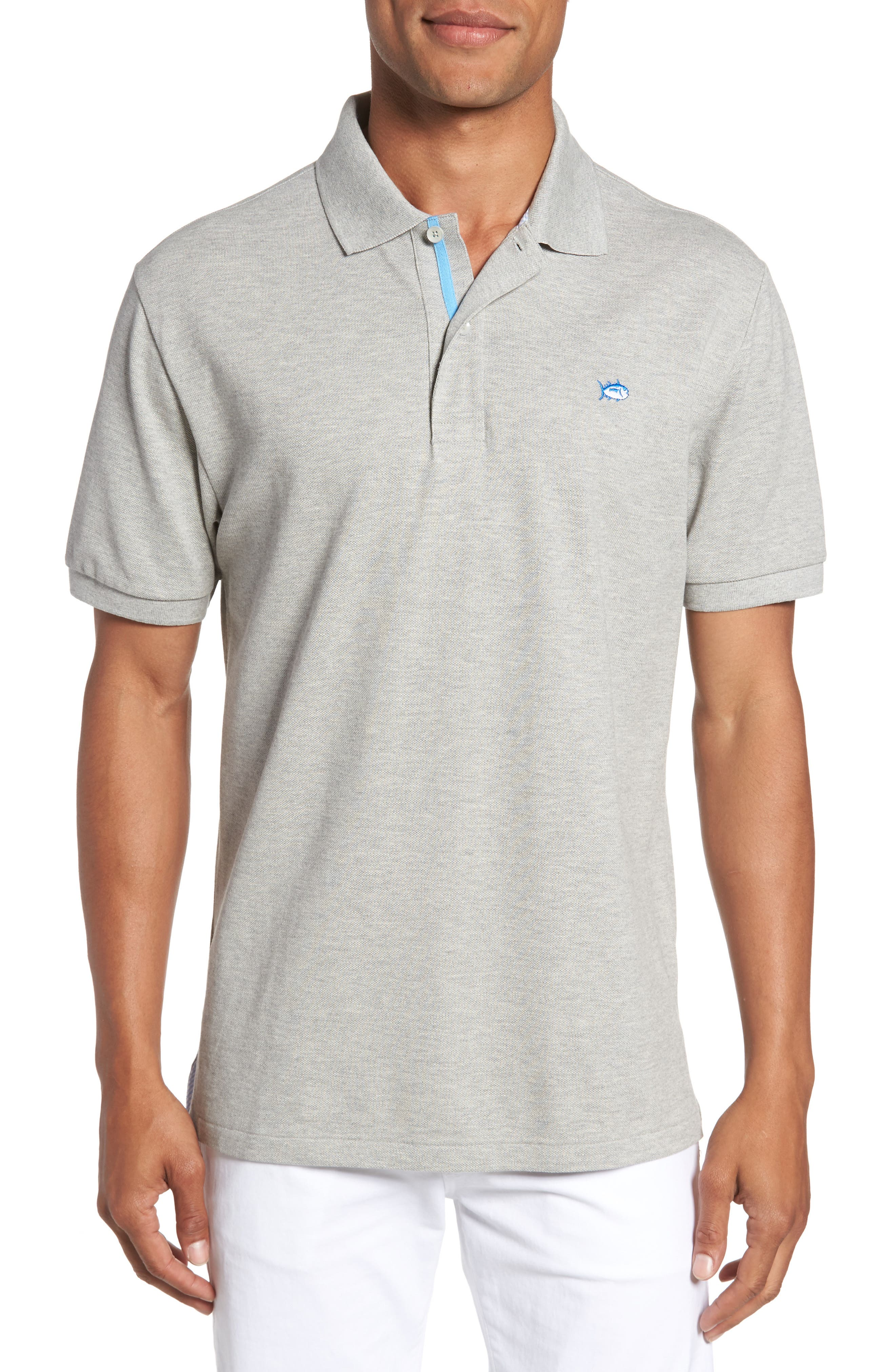 Southern Tide Classic Fit Heathered Polo