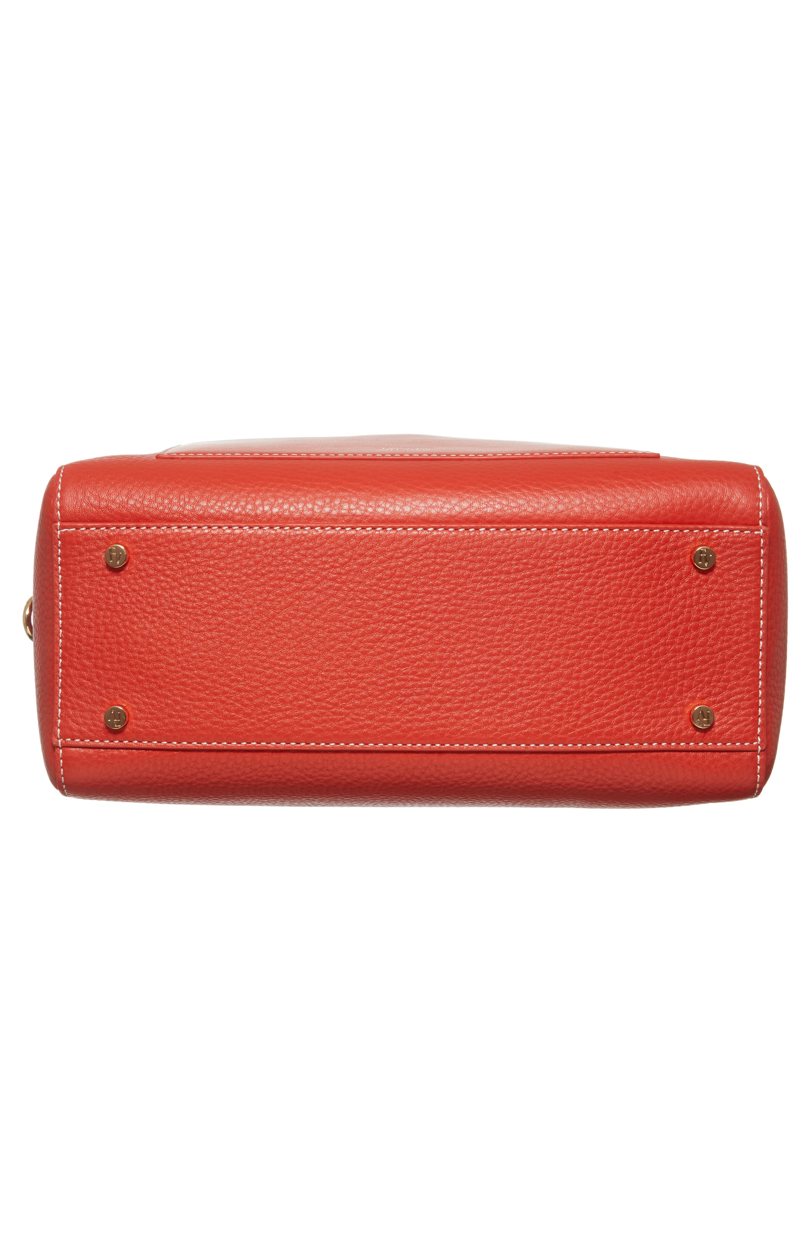 Medium Maddy Satchel,                             Alternate thumbnail 8, color,                             Coral