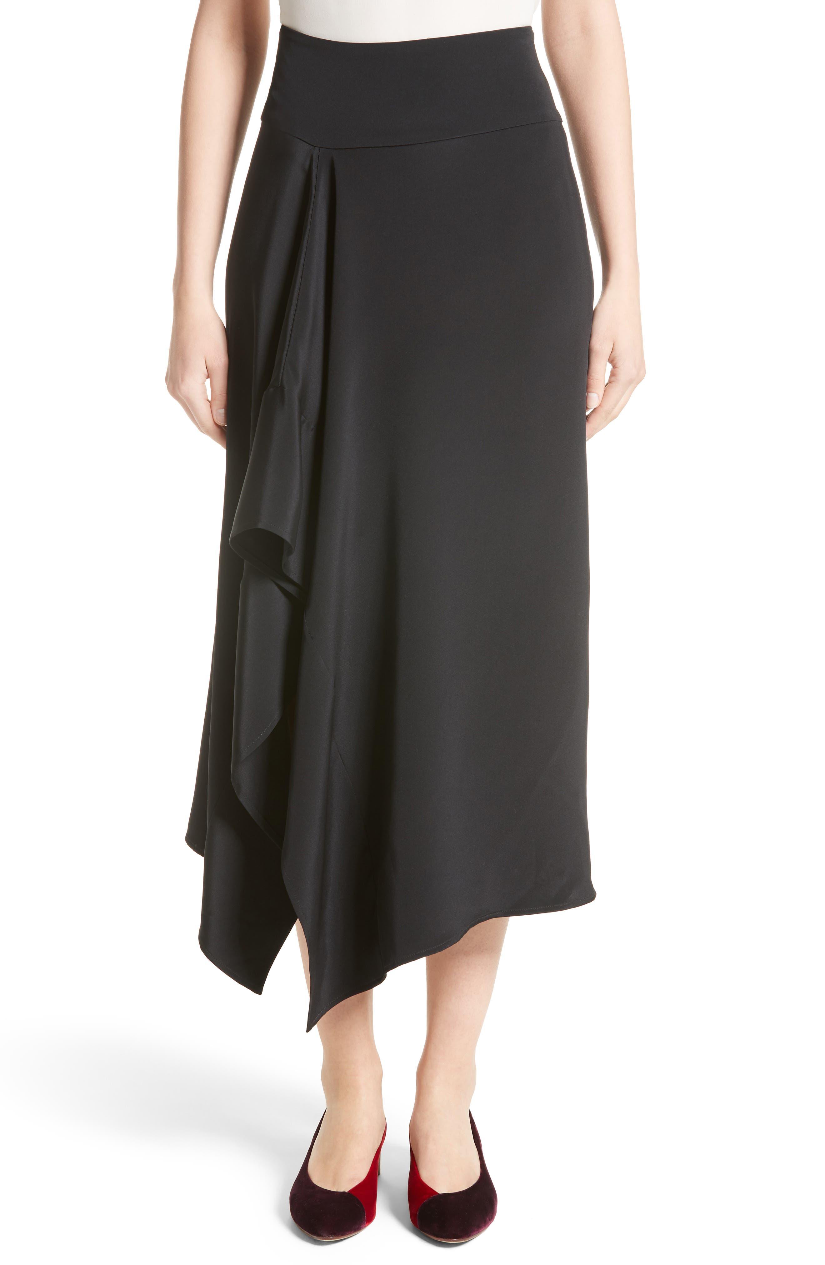 Zero + Maria Cornejo Ero Silk Crepe Skirt