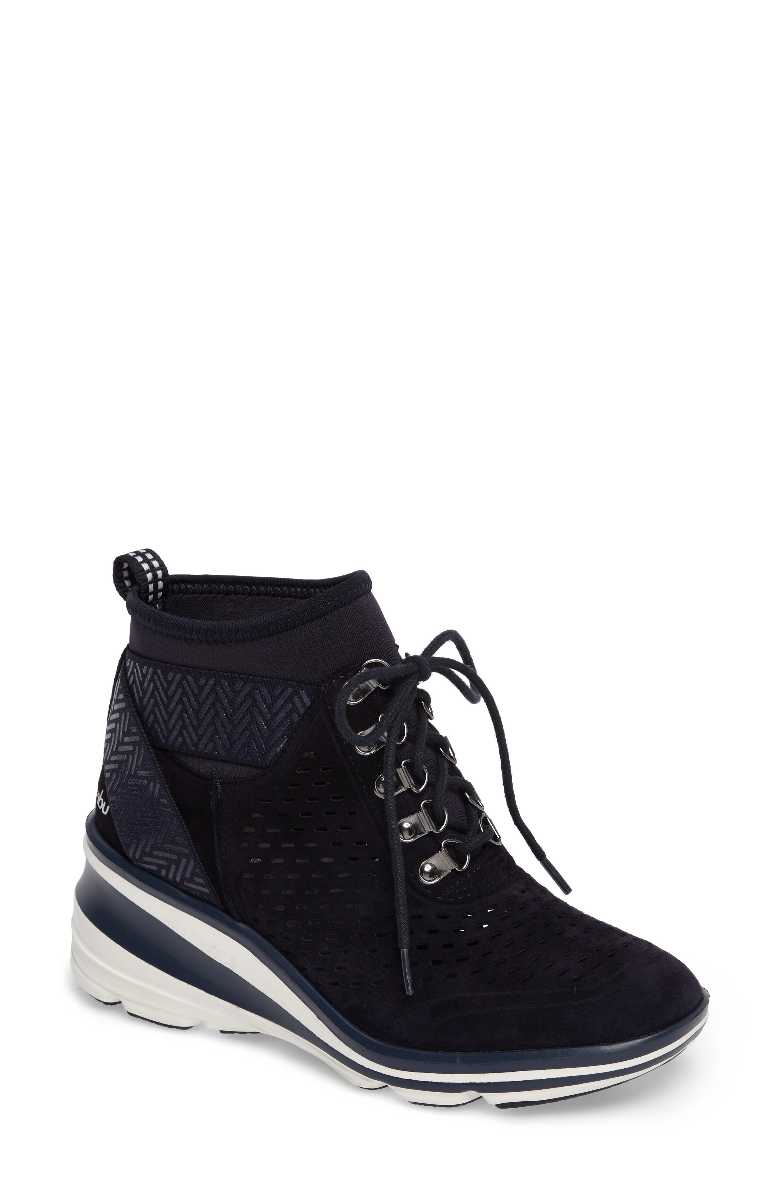 Jambu Offbeat Perforated Wedge Sneaker (Women)