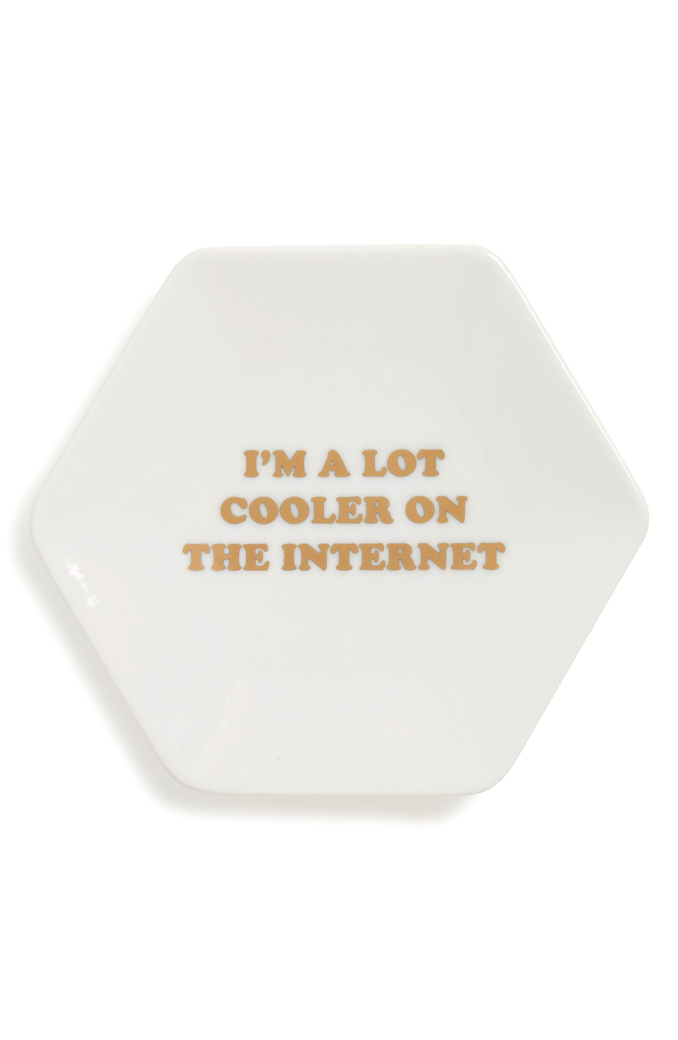 Fringe Studio Cooler on the Internet Trinket Tray