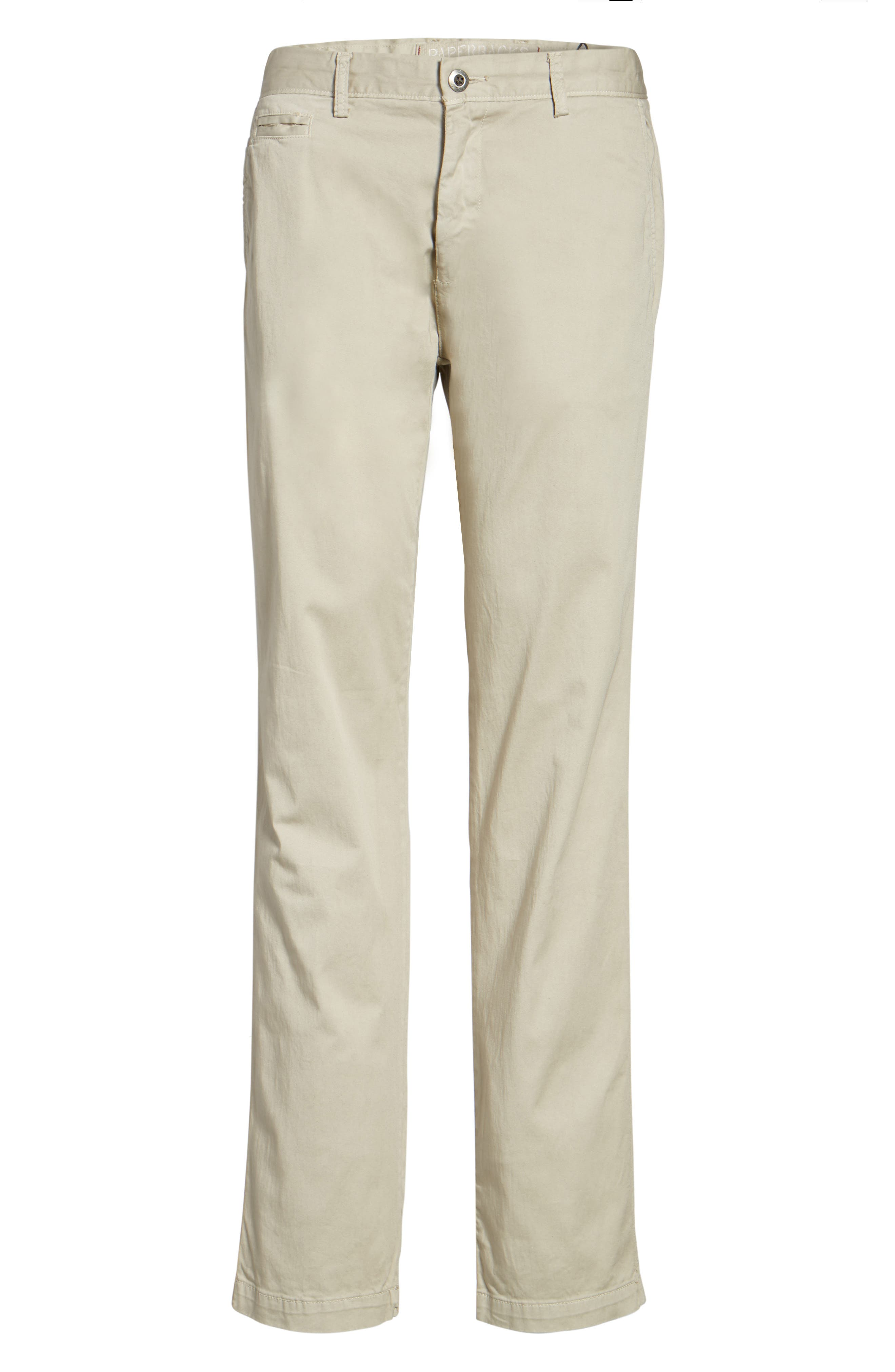Alternate Image 6  - Original Paperbacks Belmont Stretch Chino Pants