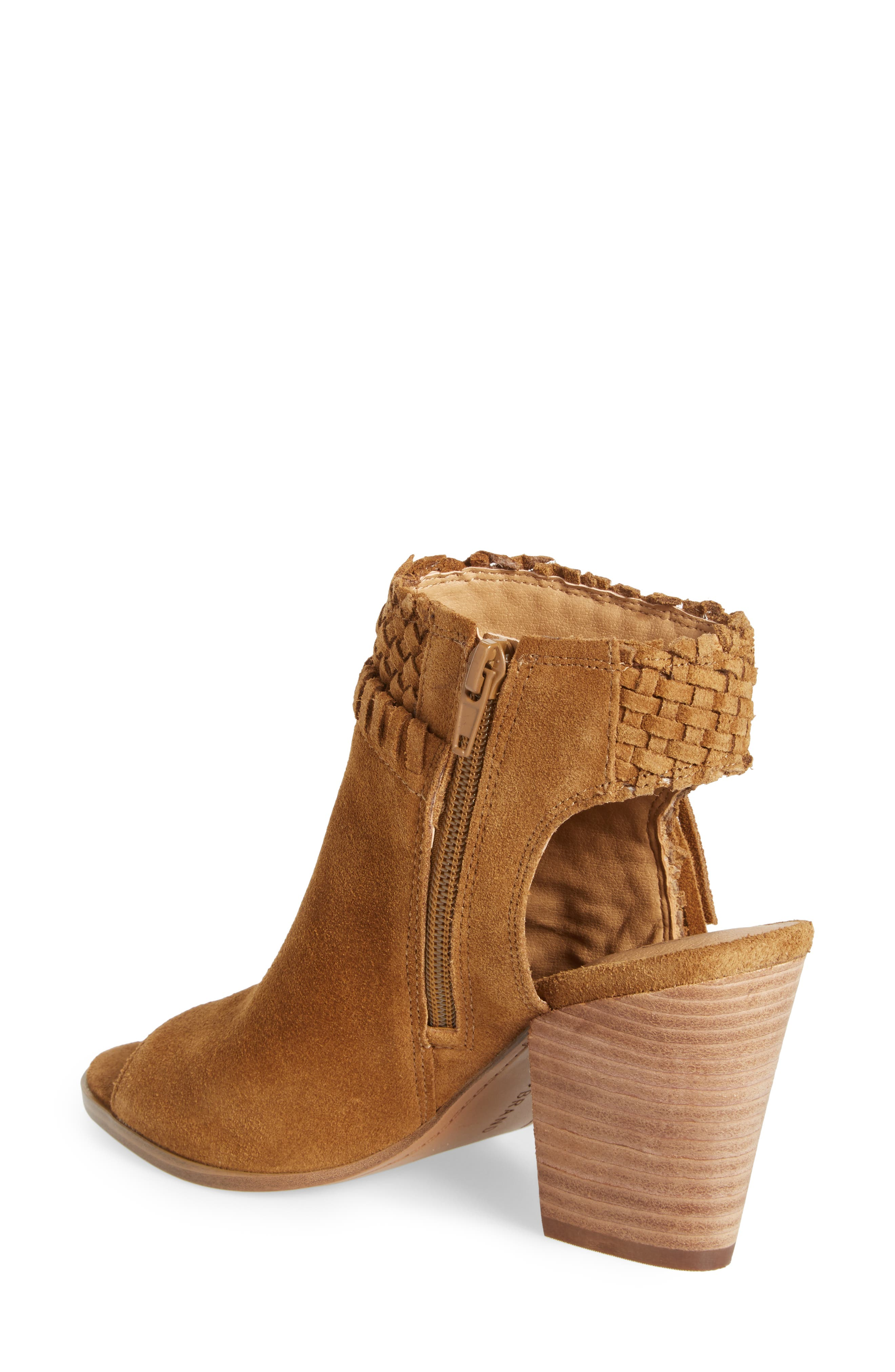 Alternate Image 2  - Lucky Brand Ointlee Fringe Bootie Sandal (Women)