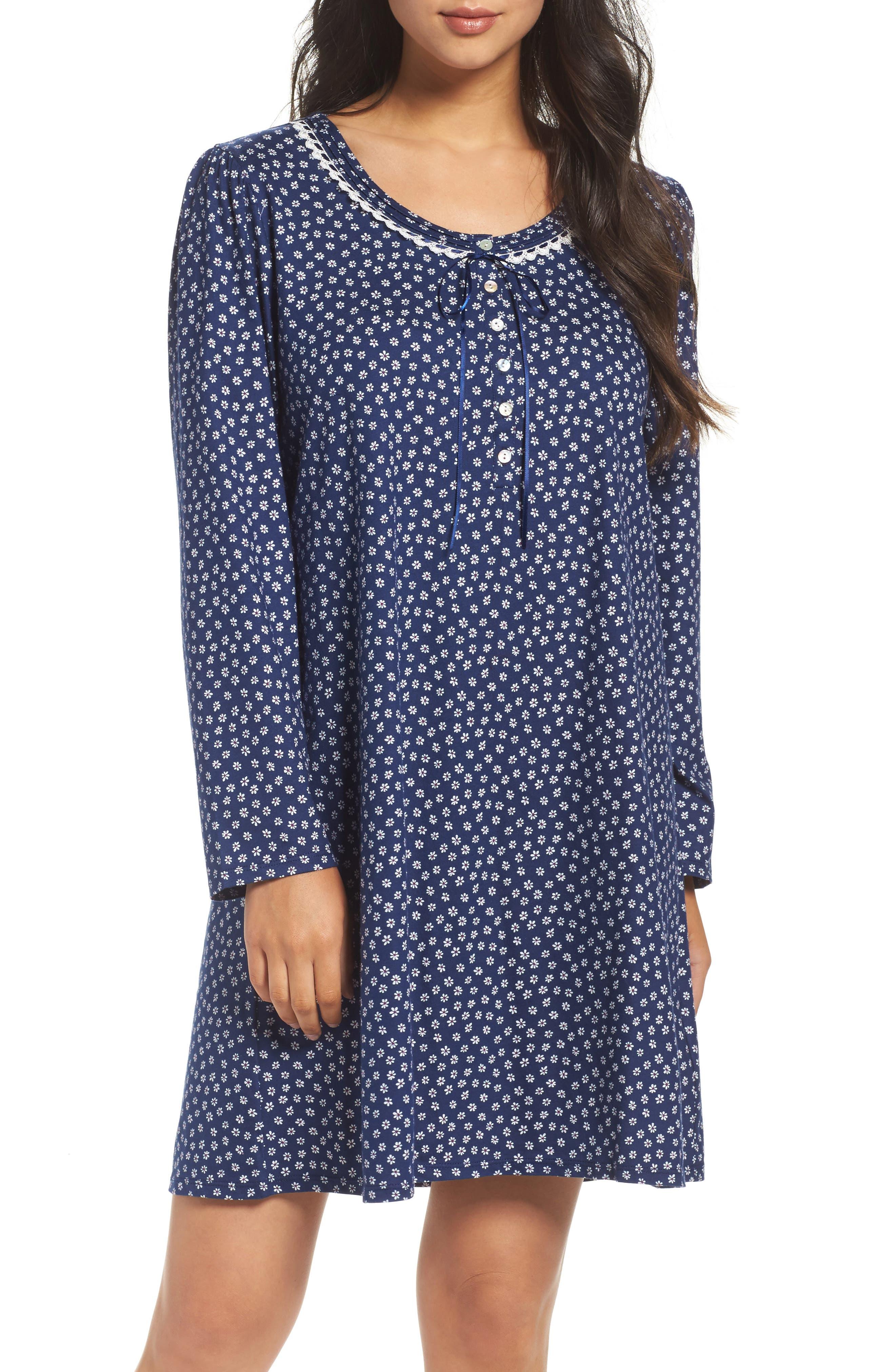 Eileen West Long Sleeve Sleep Shirt