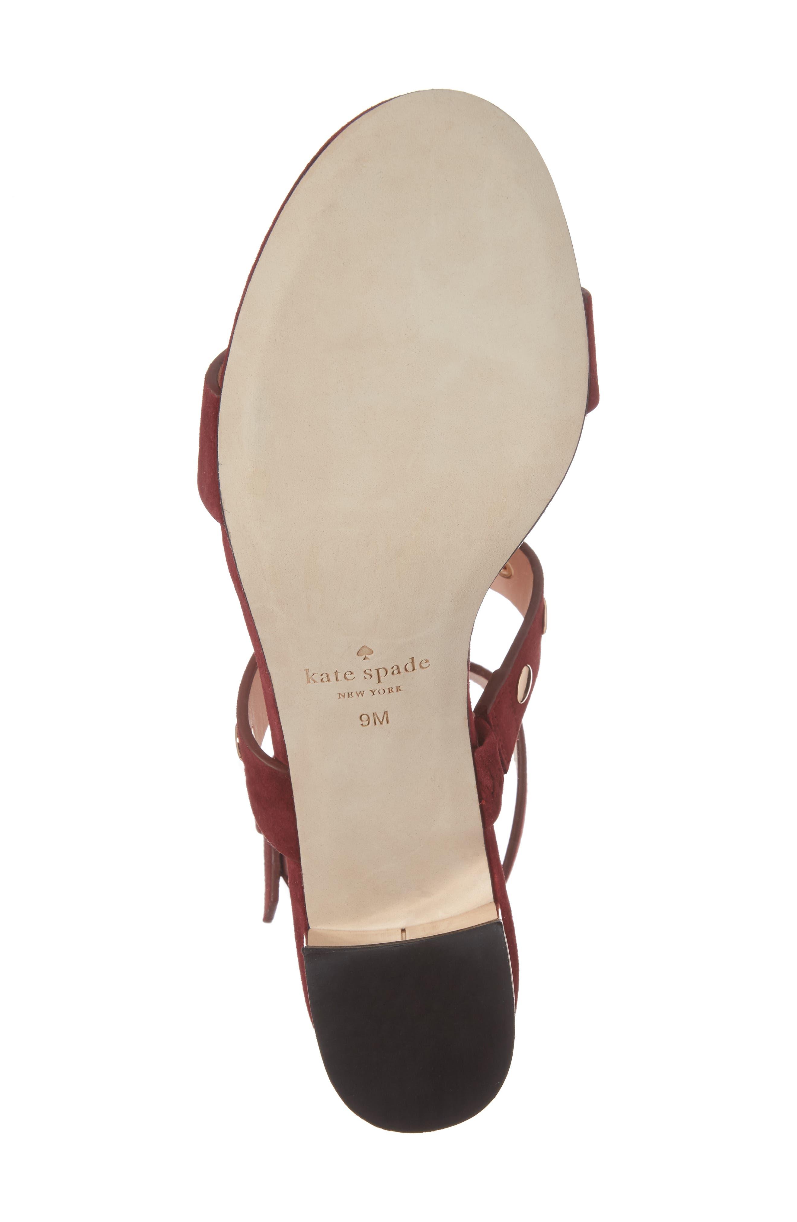 Alternate Image 6  - kate spade new york welby t-strap sandal (Women)