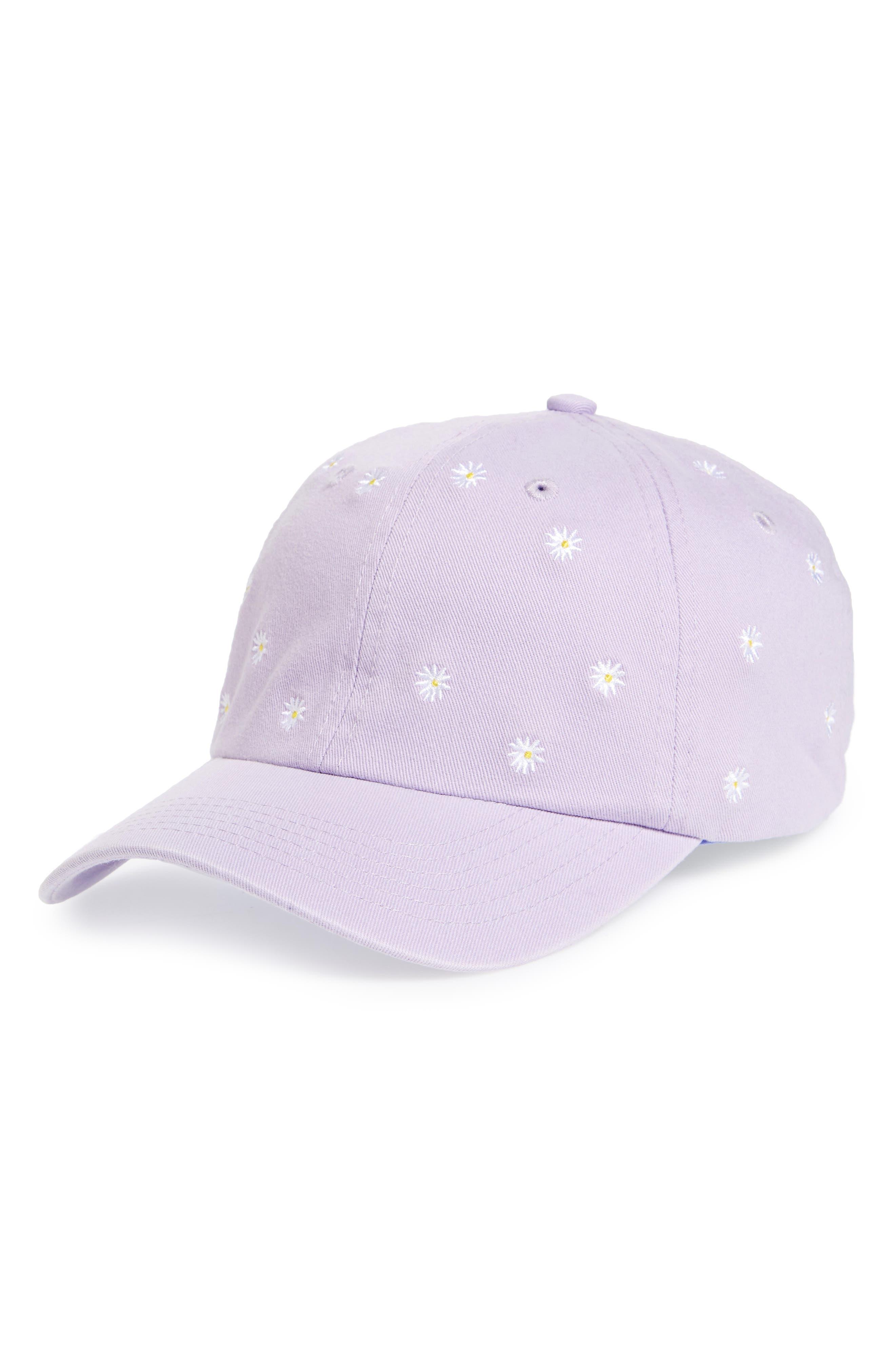 TOPSHOP Daisy Baseball Cap