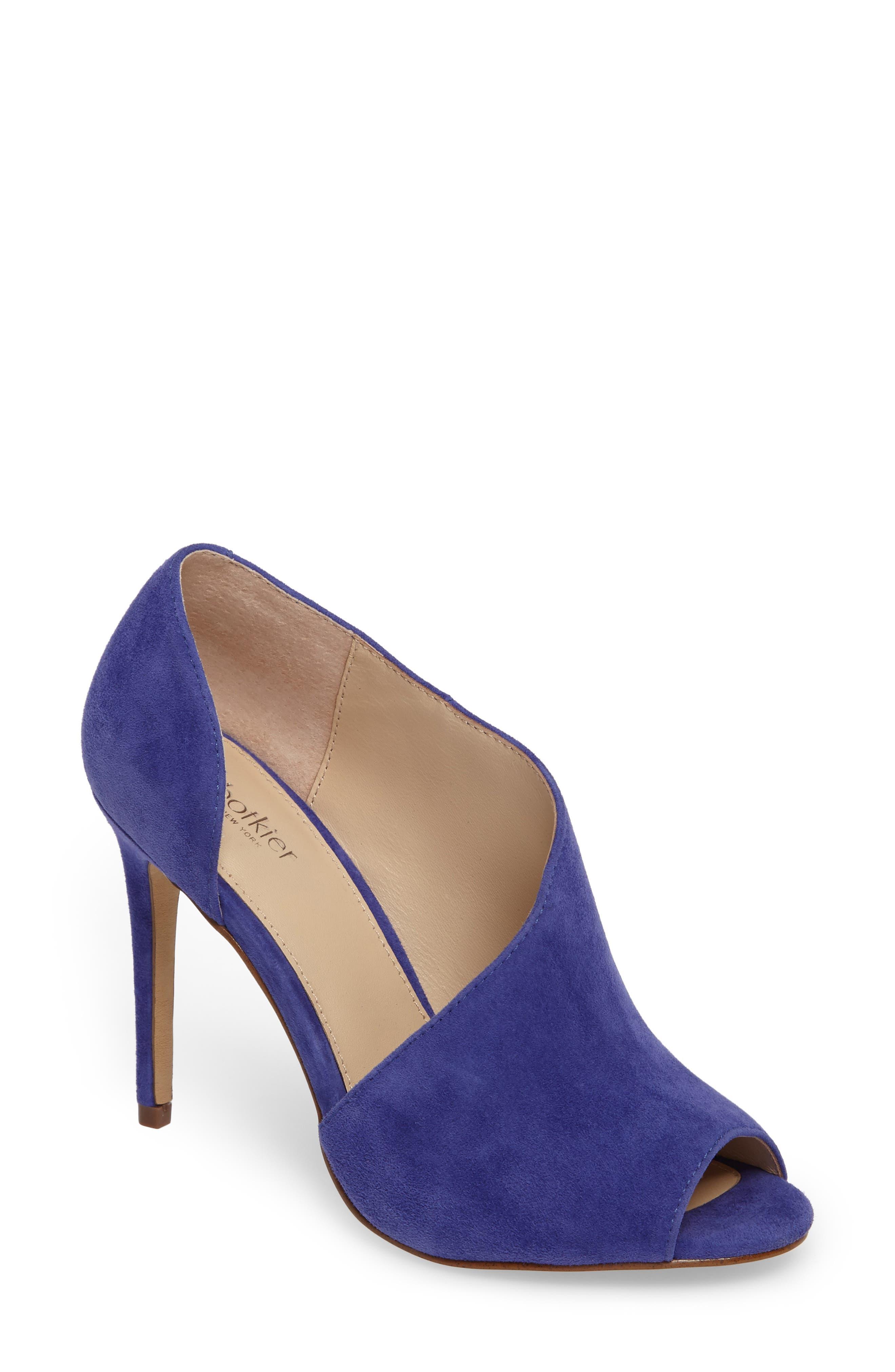 Adelia Asymmetrical Sandal,                         Main,                         color, Blue