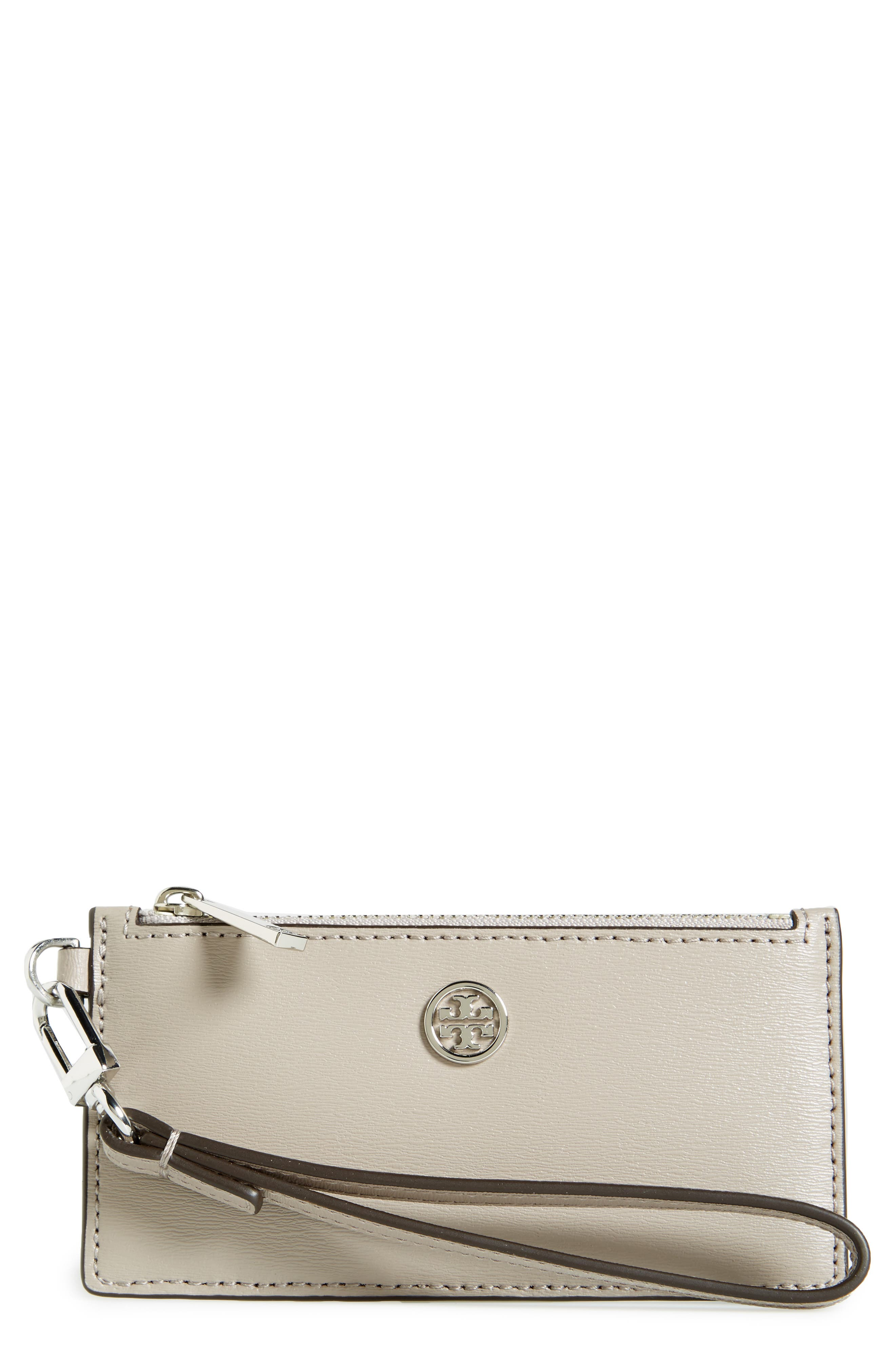 Tory Burch Parker Leather Card Case