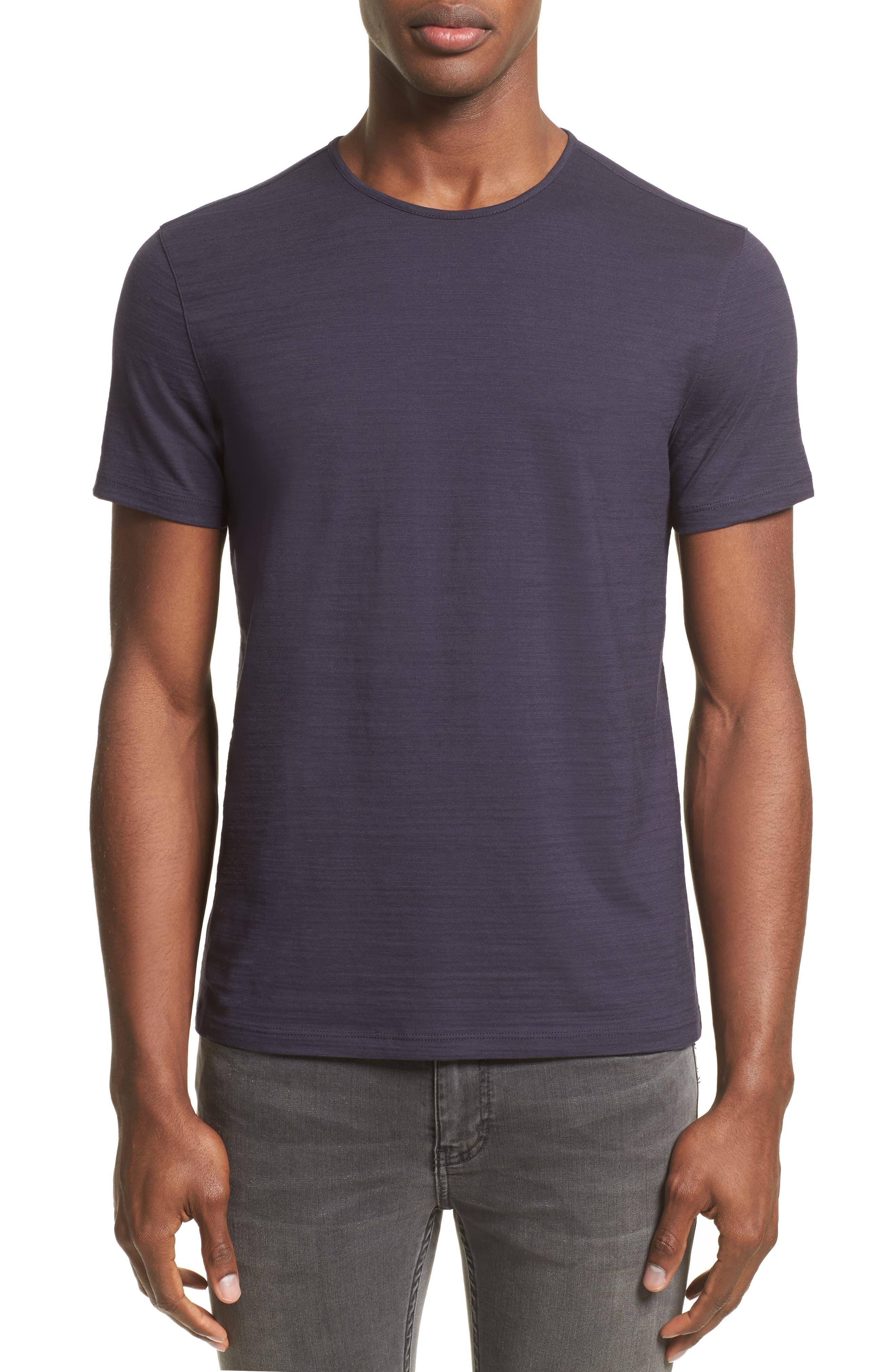 Slub T-Shirt,                         Main,                         color, Antique Purple