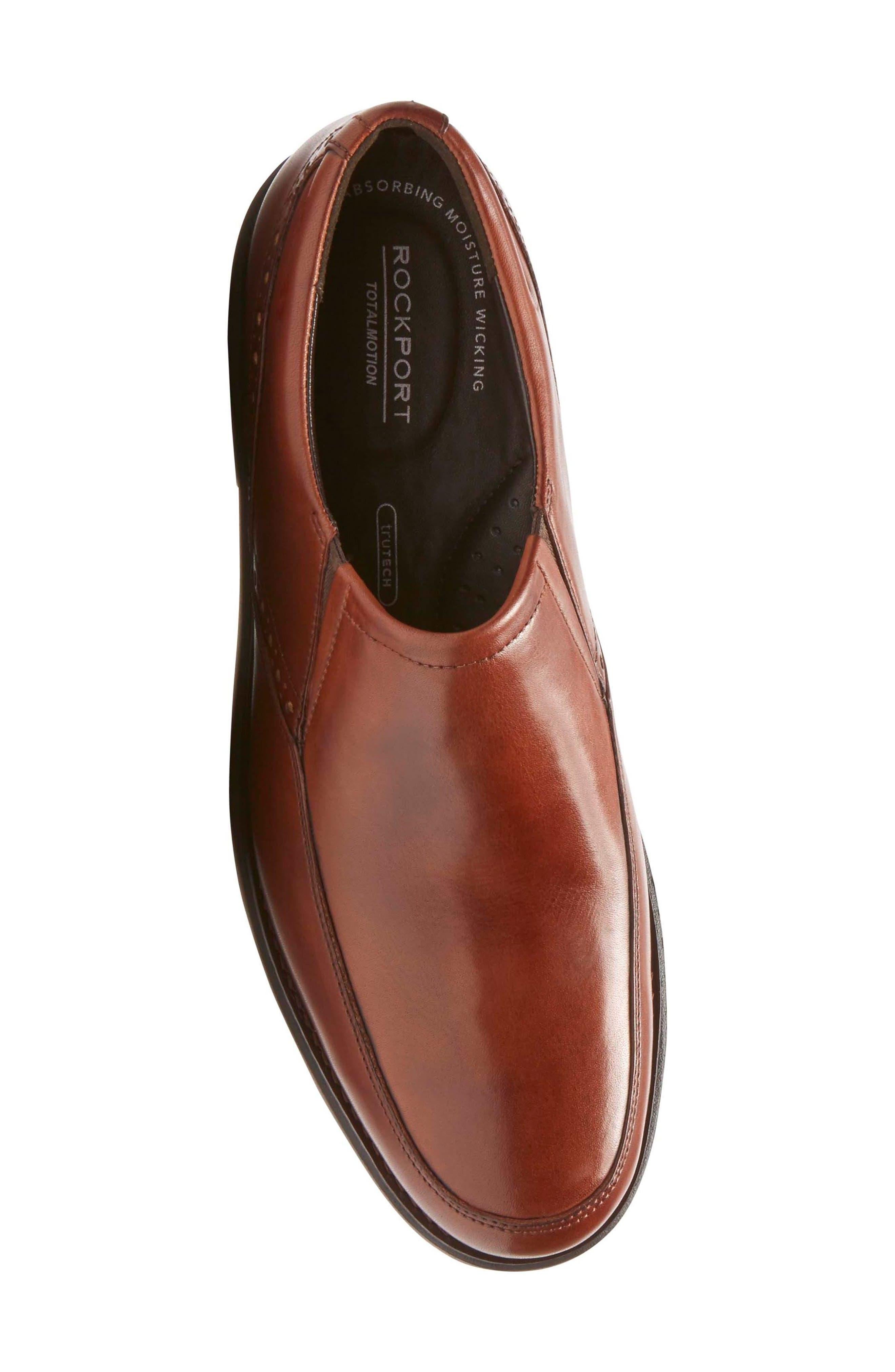 Total Motion Classic Dress Venetian Loafer,                             Alternate thumbnail 5, color,                             Tan Leather