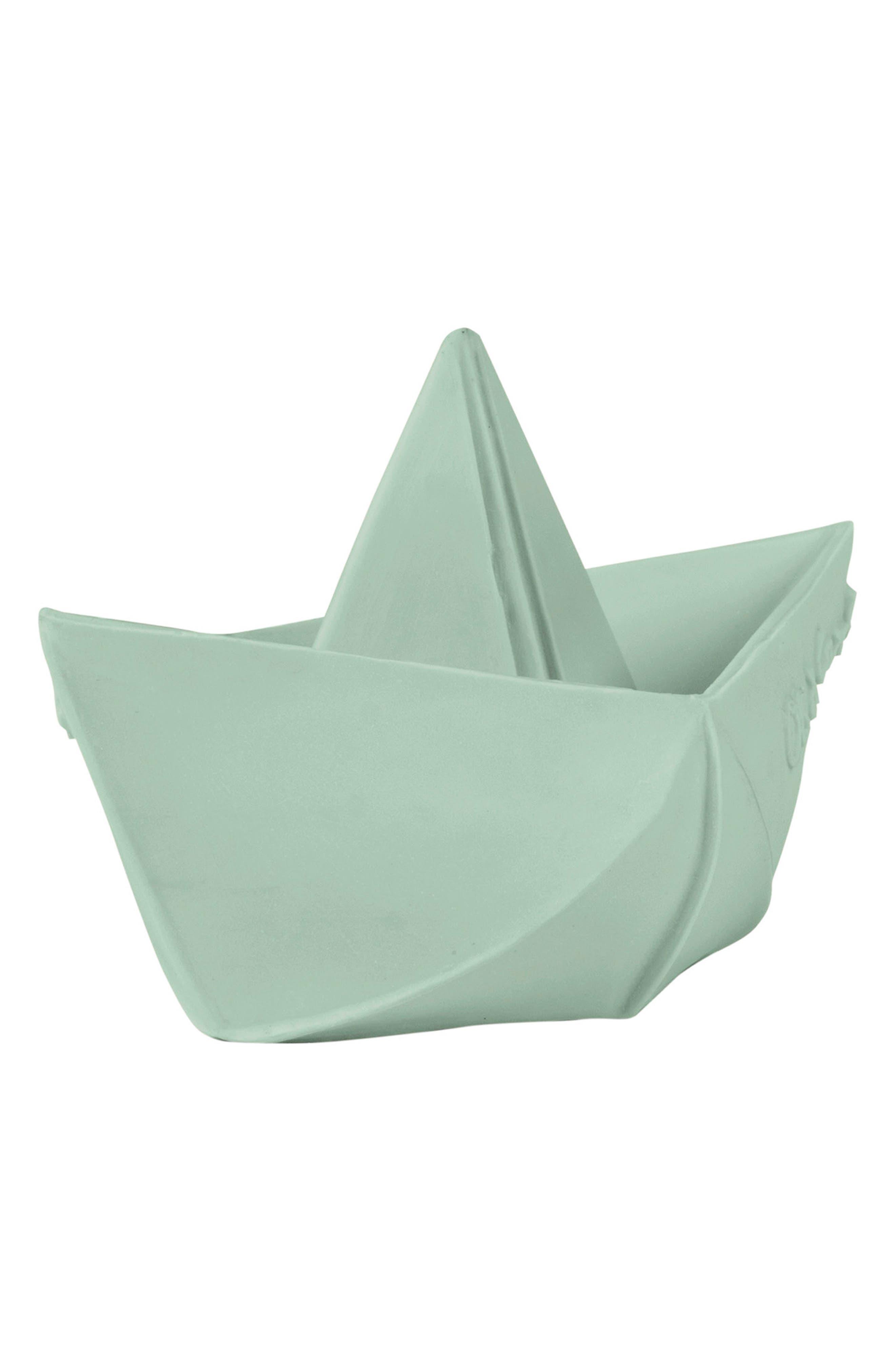 Main Image - Oli & Carol Origami Boat Bath Toy