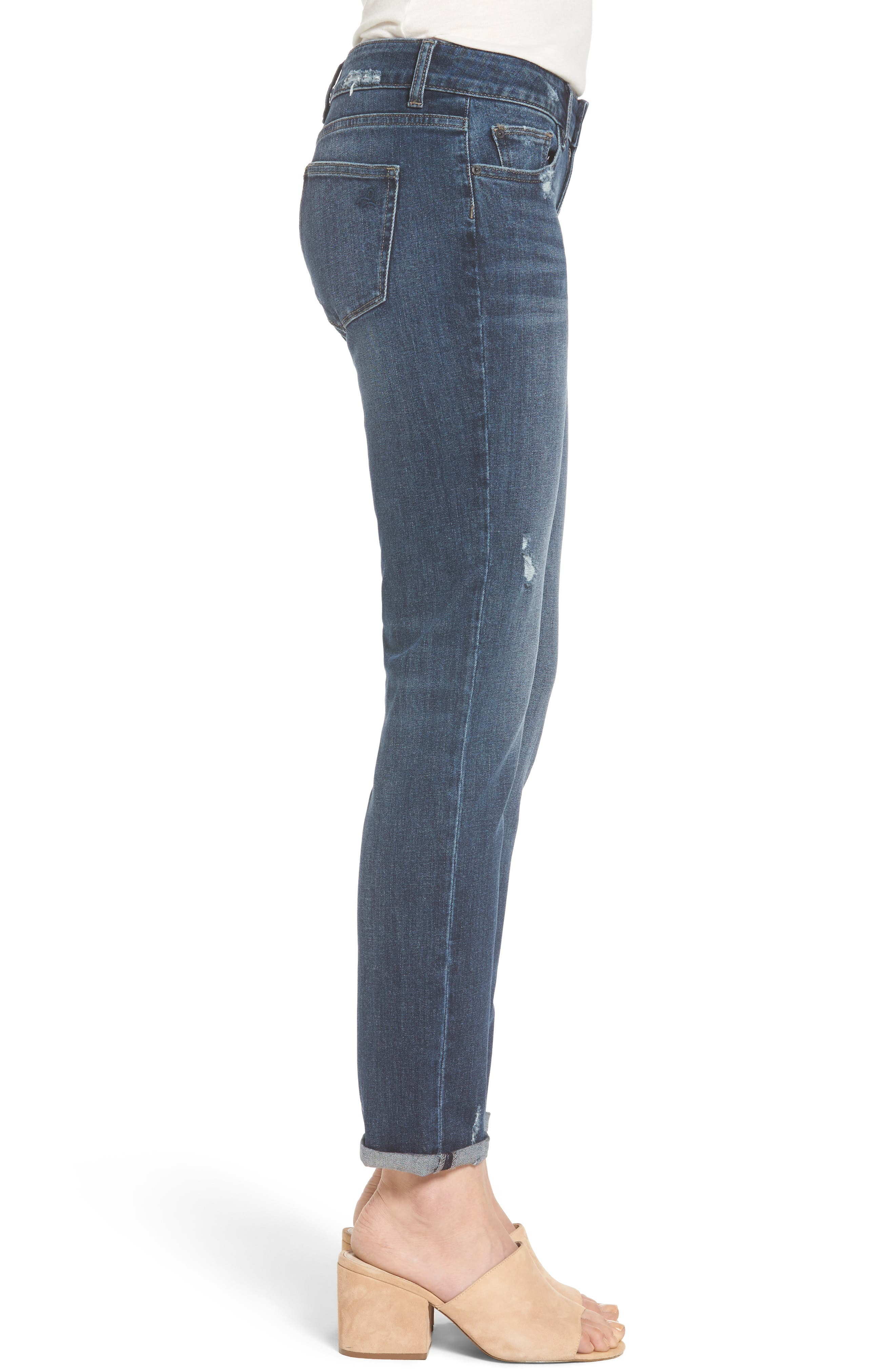 Alternate Image 3  - DL1961 Riley Boyfriend Jeans (Hayden)