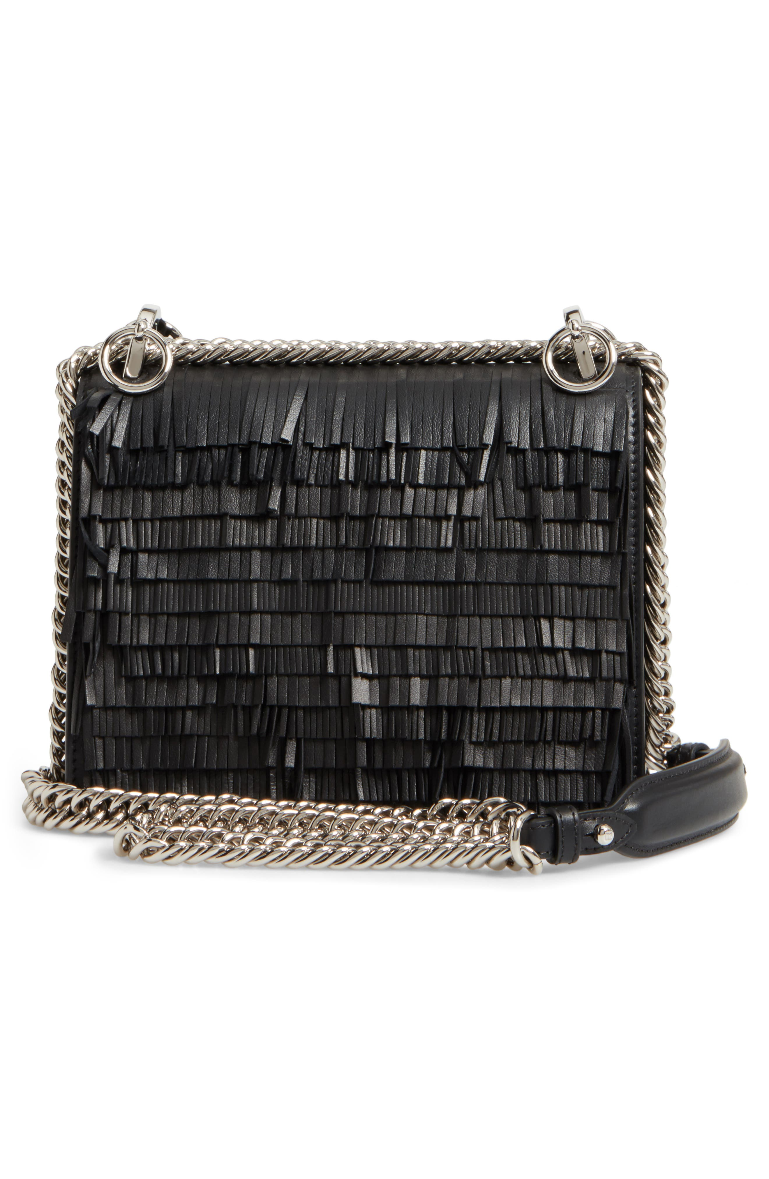 Alternate Image 3  - Fendi Small Kan I Fringe Monster Calfskin Shoulder Bag