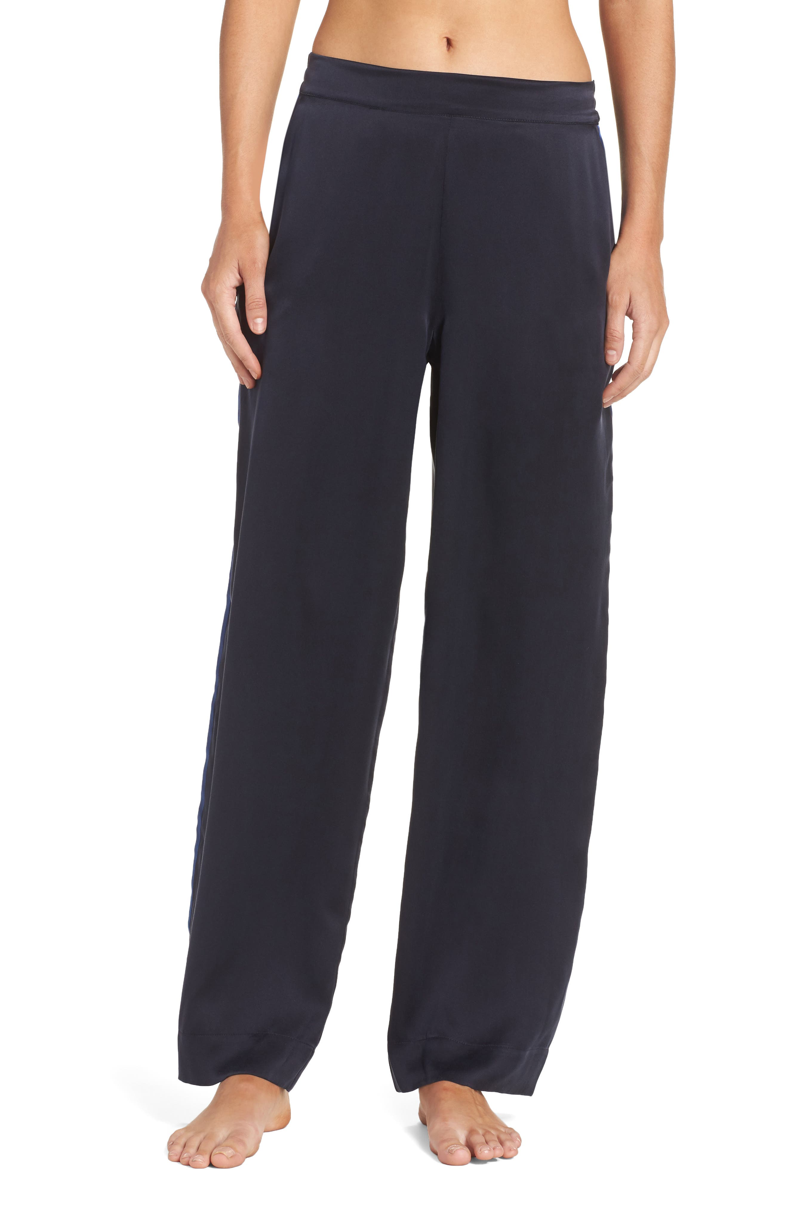 Asceno by Beautiful Bottoms Silk Pajama Pants