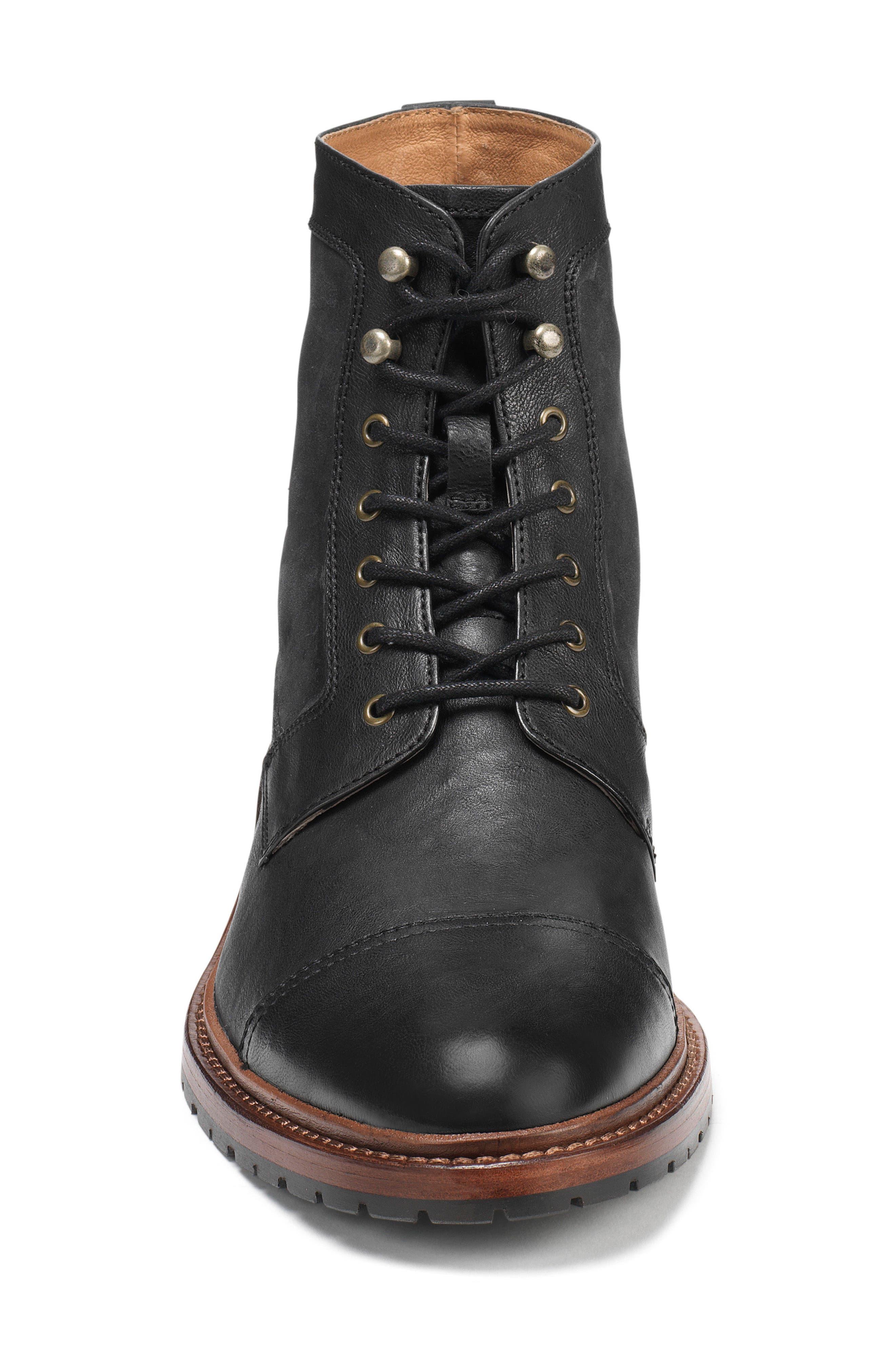 Alternate Image 3  - Trask 'Lowell' Cap Toe Boot (Men)
