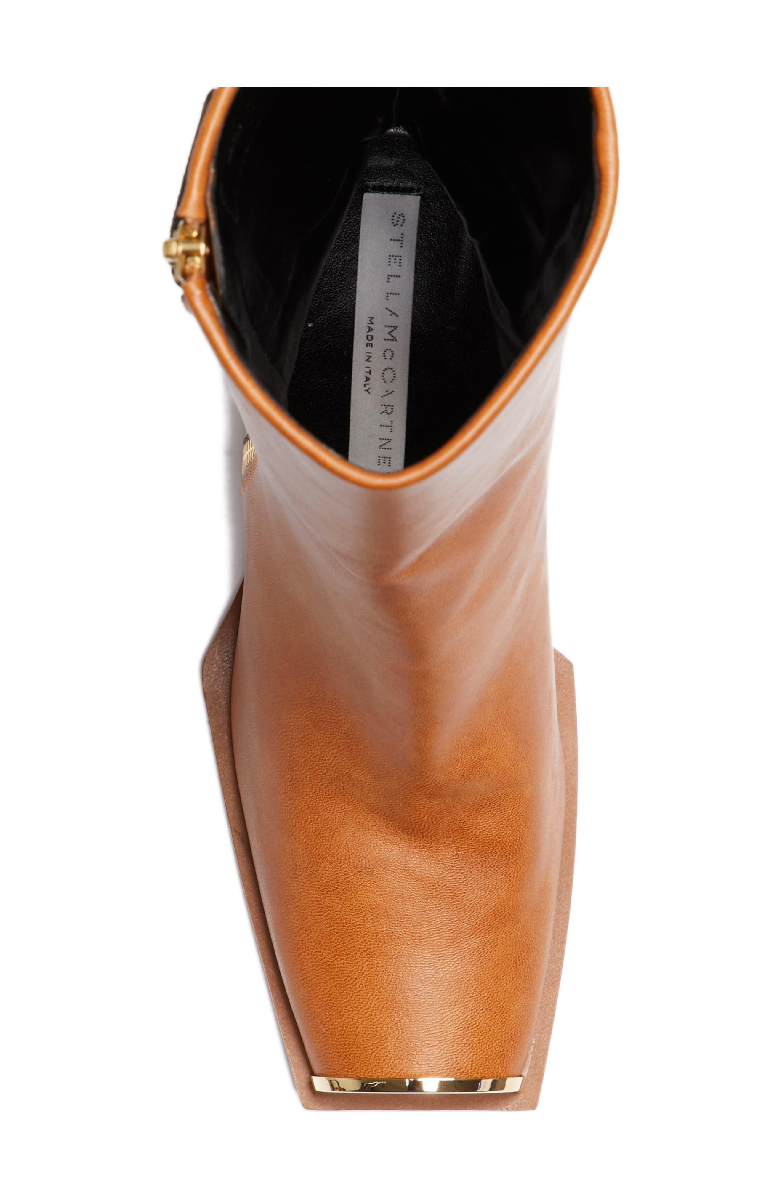 Alternate Image 5  - Stella McCartney Cap Toe Boot (Women)
