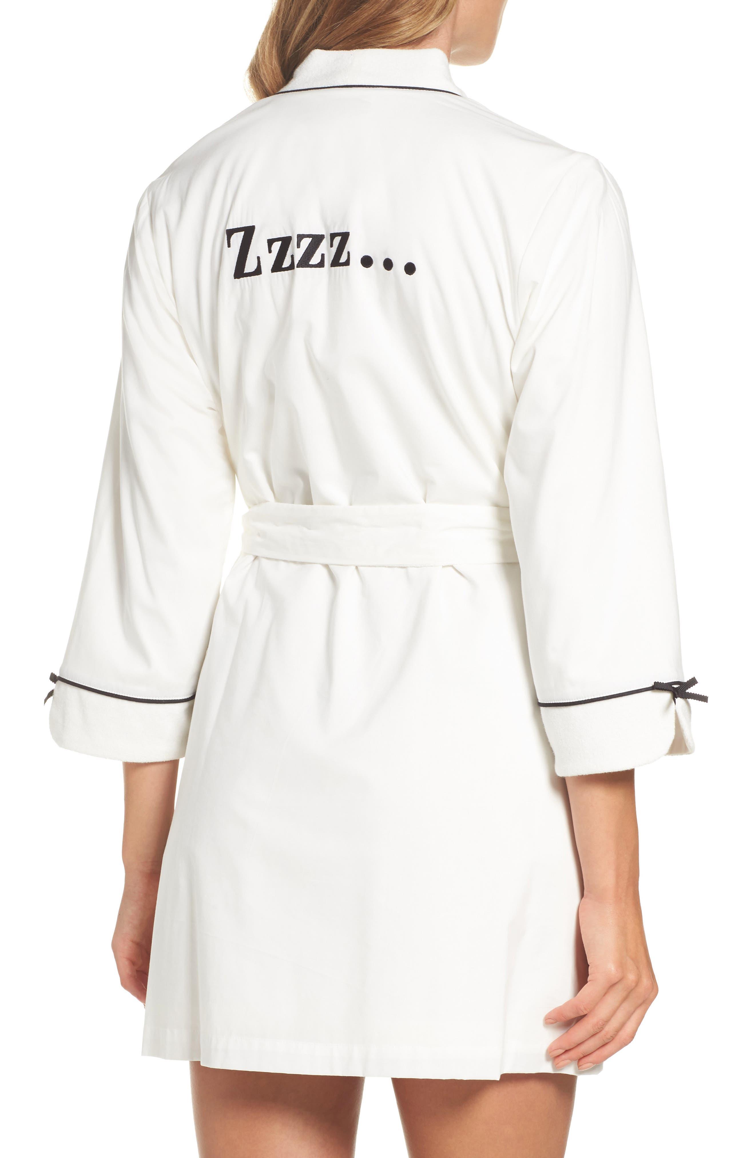 Alternate Image 2  - kate spade new york short robe