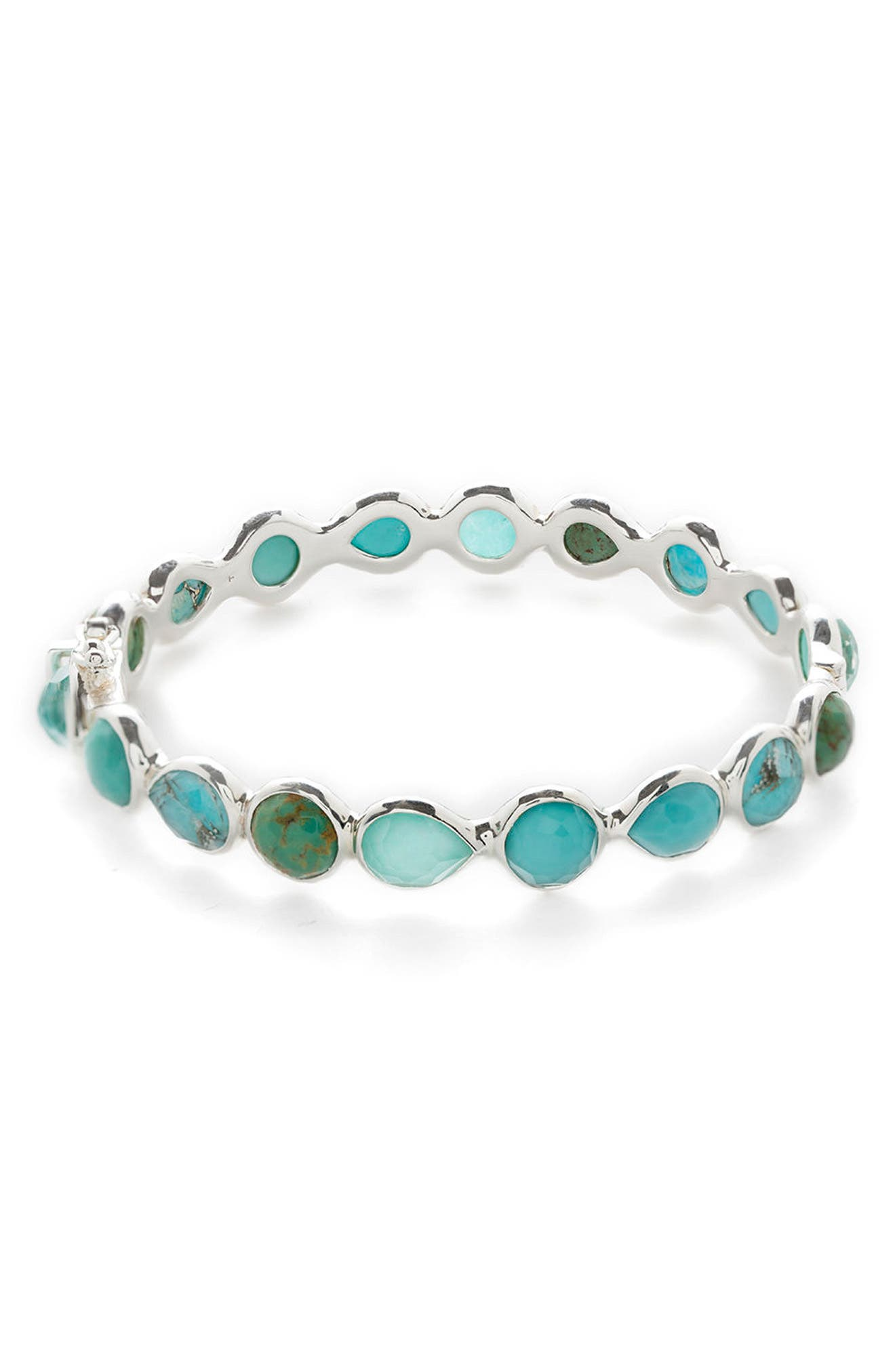 Rock Candy Bangle,                         Main,                         color, Turquoise
