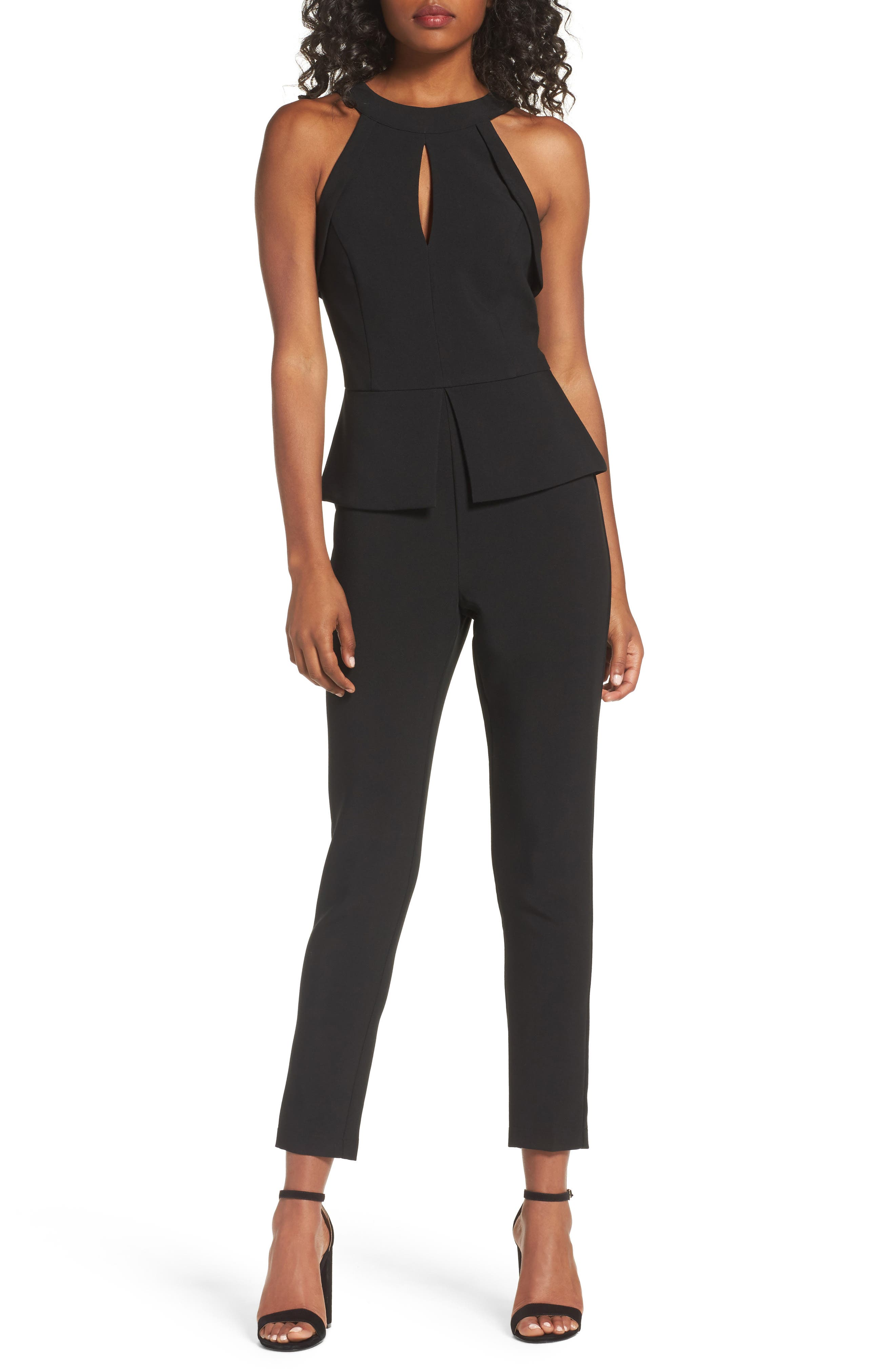 Marlena Jumpsuit,                             Main thumbnail 1, color,                             Black