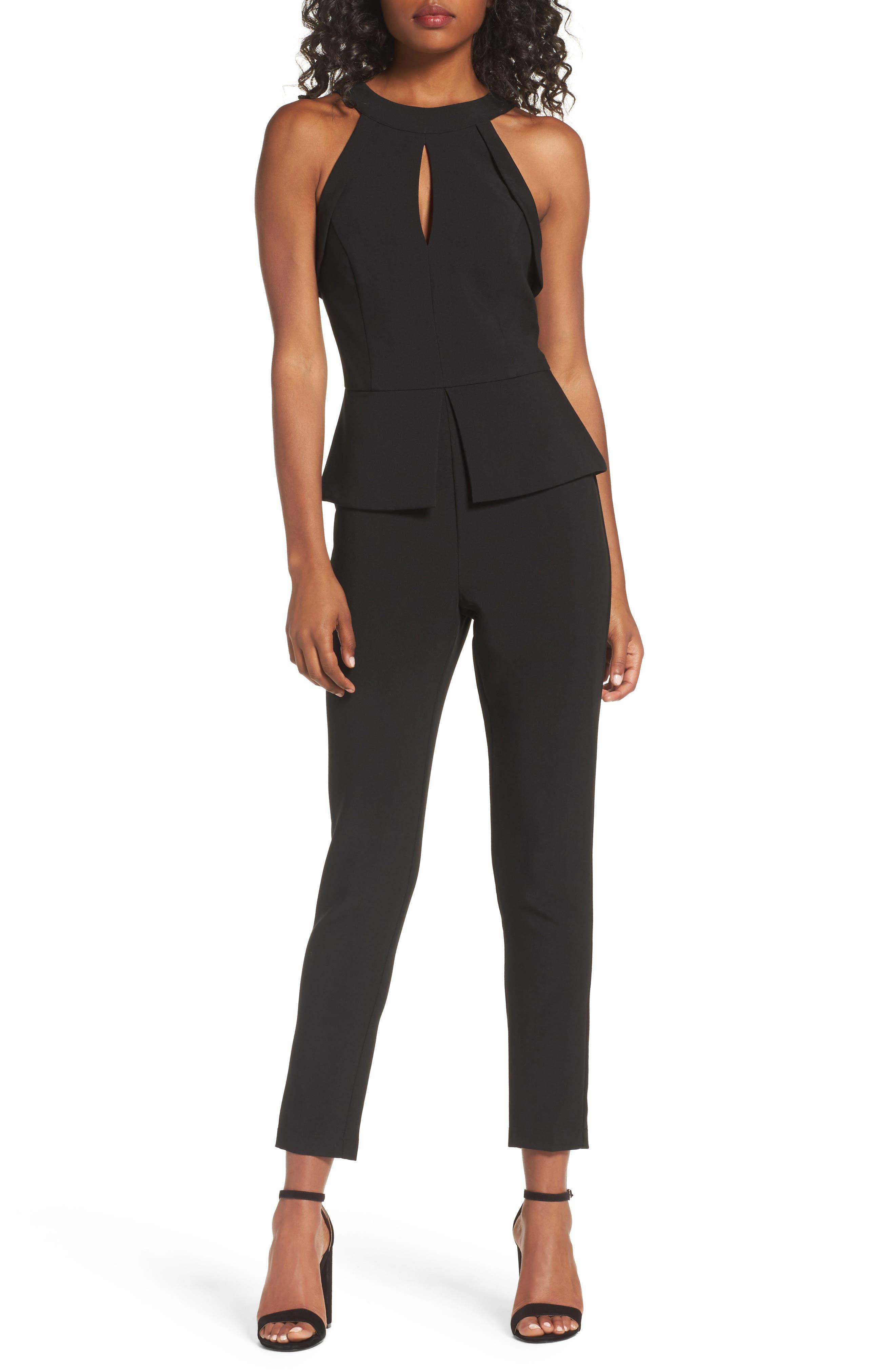 Marlena Jumpsuit,                         Main,                         color, Black