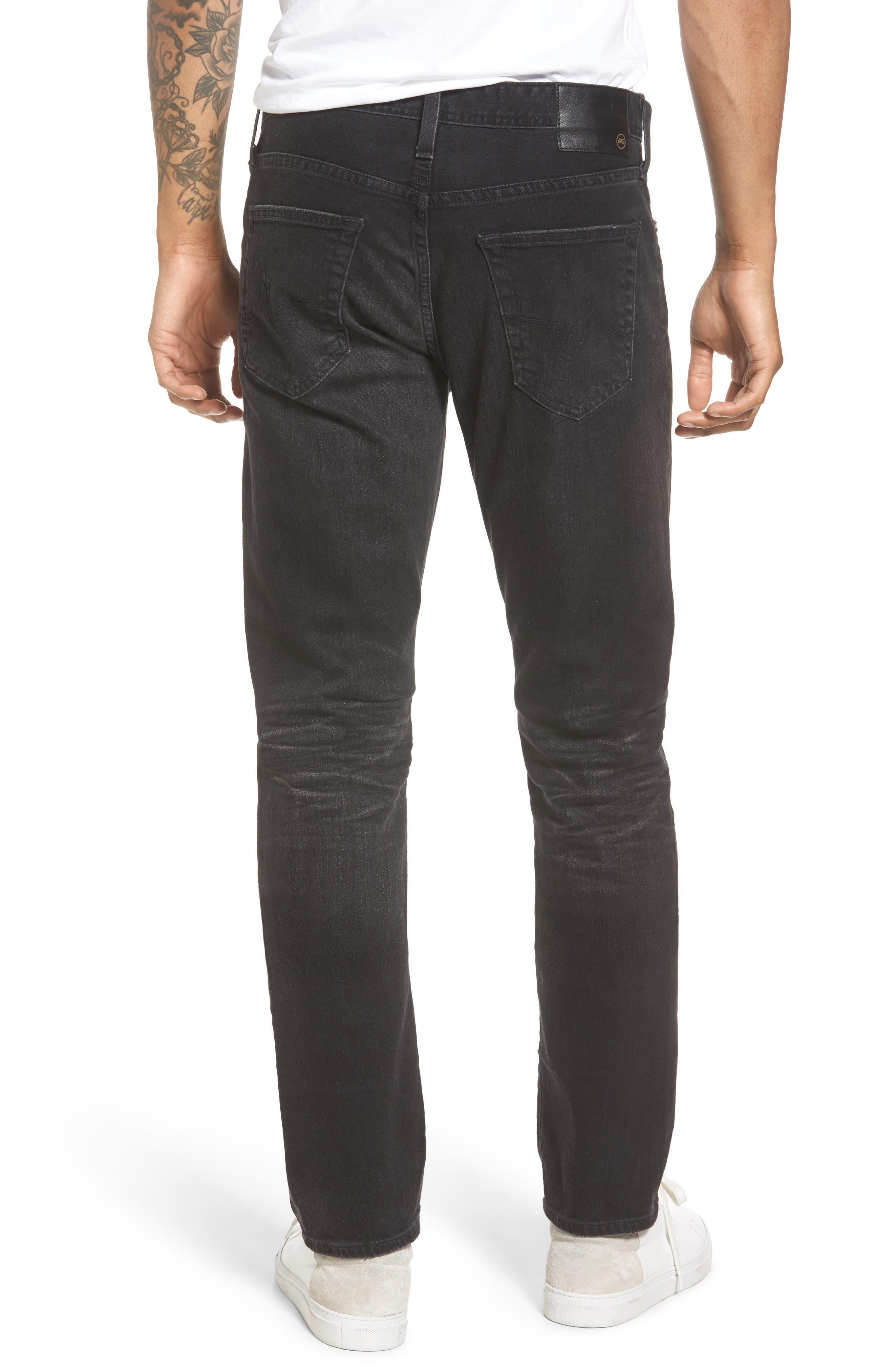 Everett Slim Straight Leg Jeans,                             Alternate thumbnail 3, color,                             4 Years Down