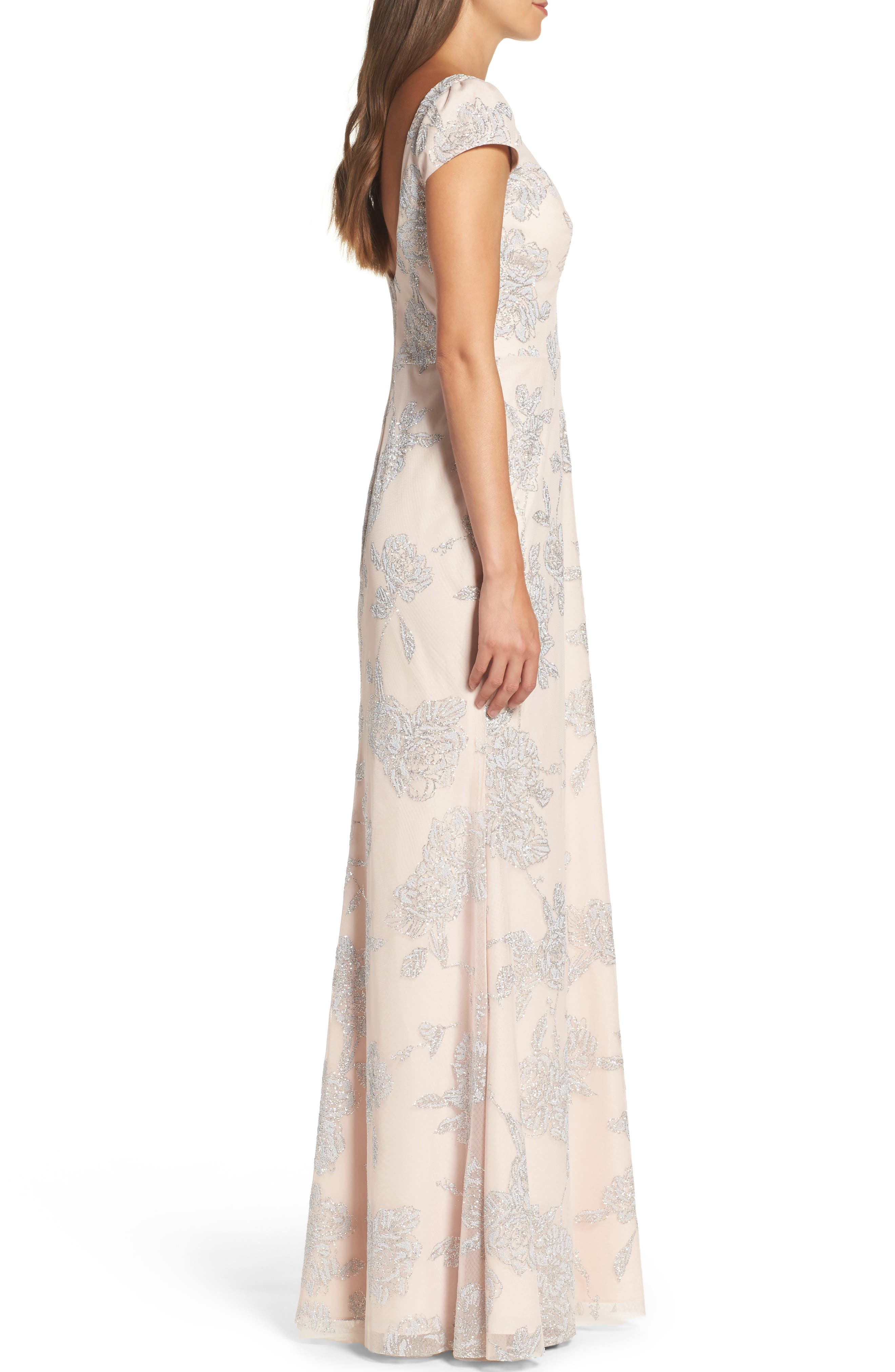 Alternate Image 3  - Hayley Paige Occasions Beaded Trumpet Gown