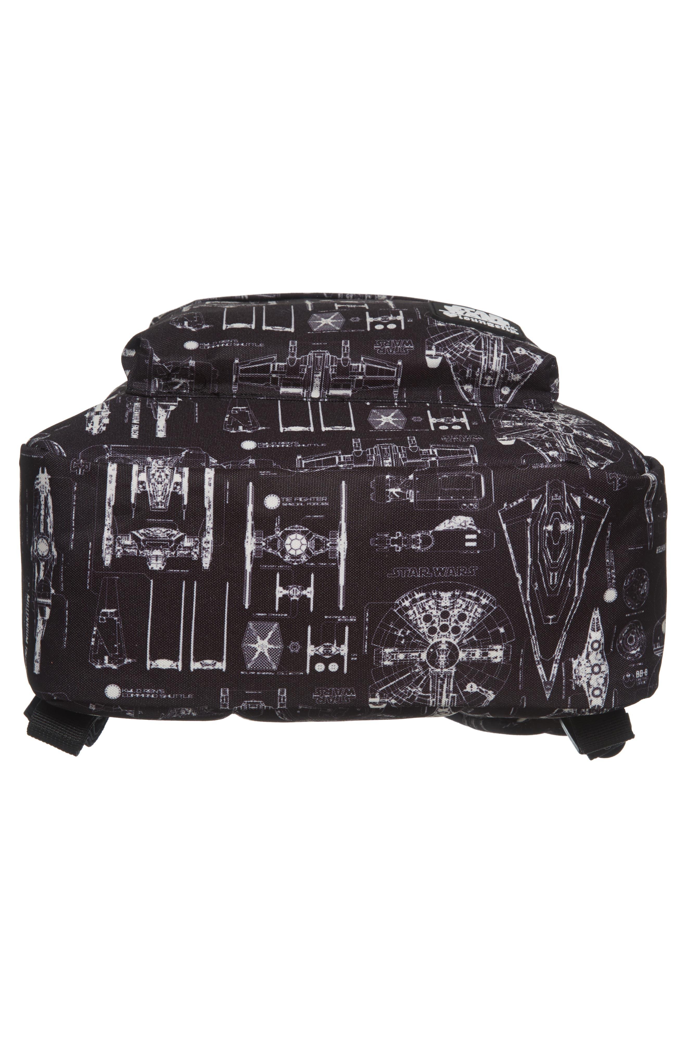 Star Wars<sup>™</sup> The Force Awakens Blueprint Backpack,                             Alternate thumbnail 5, color,                             Black