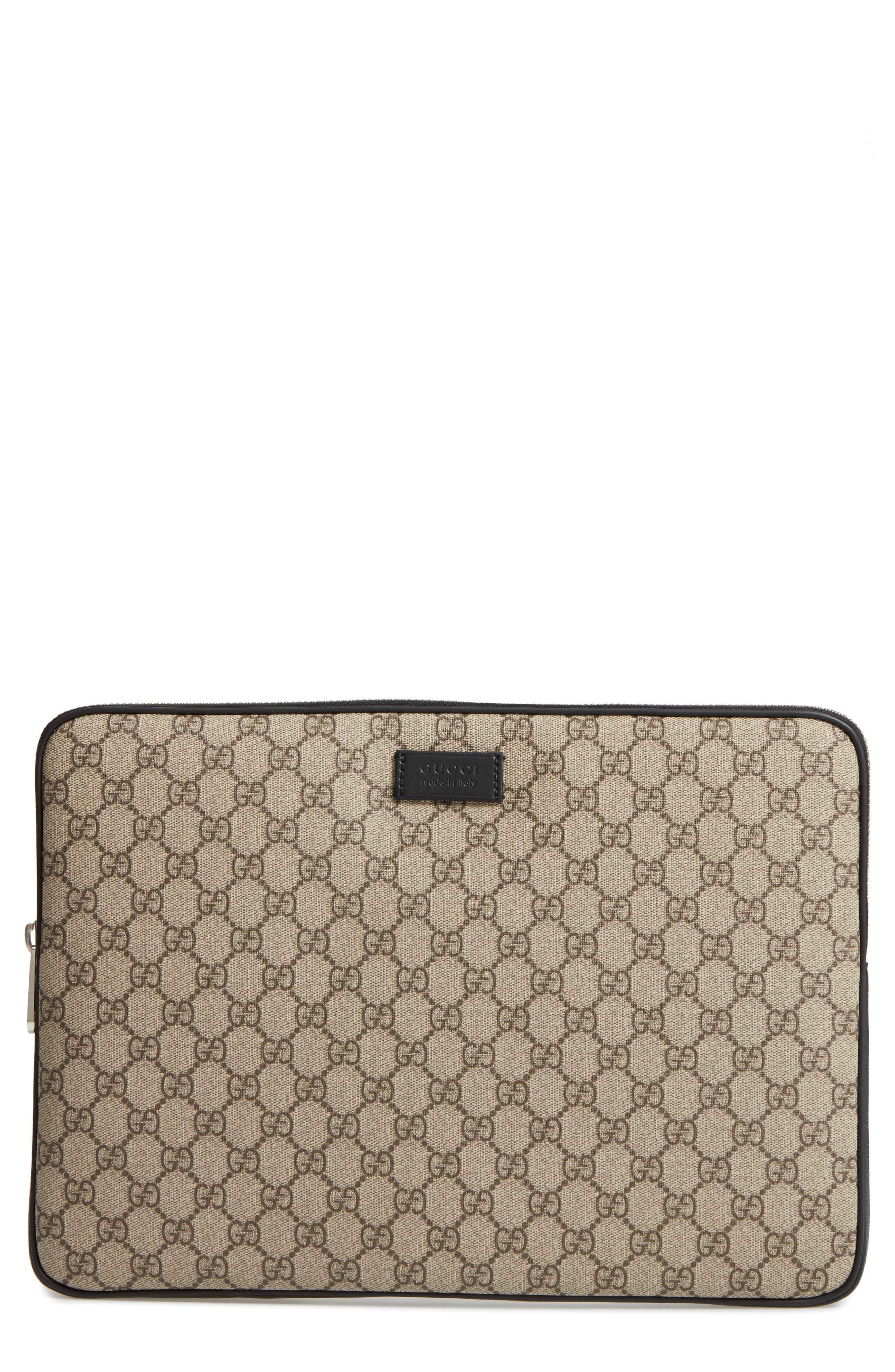 Gucci Eden Canvas Laptop Sleeve