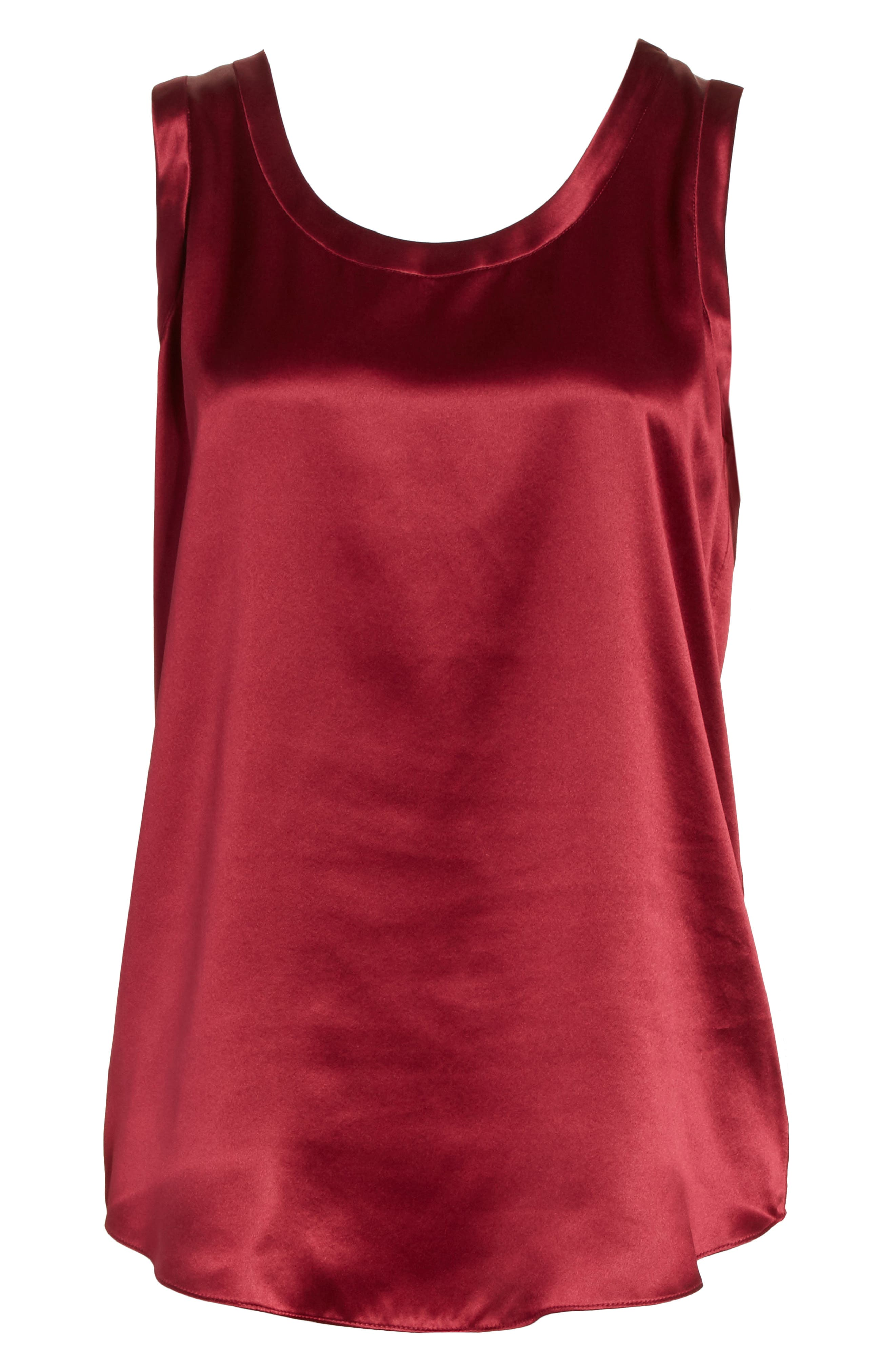 Alternate Image 6  - Lafayette 148 New York Perla Reversible Silk Blouse
