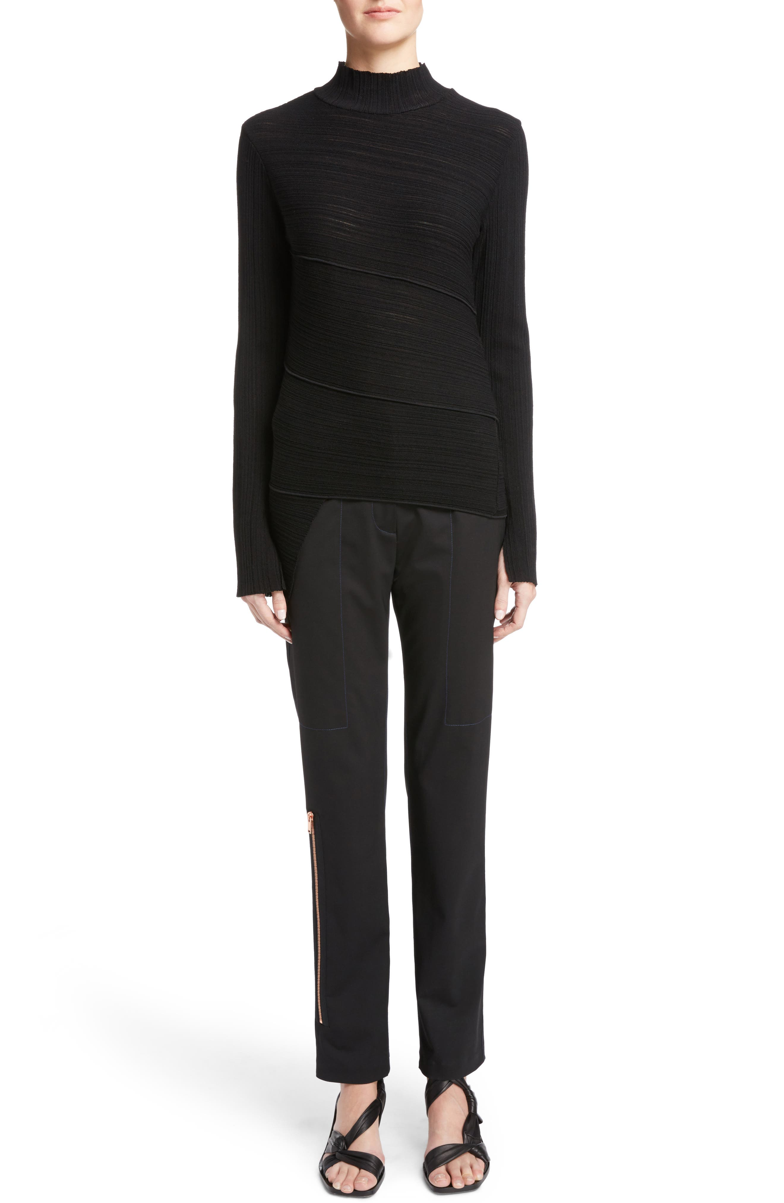 Alternate Image 6  - Proenza Schouler Spiral Knit Top