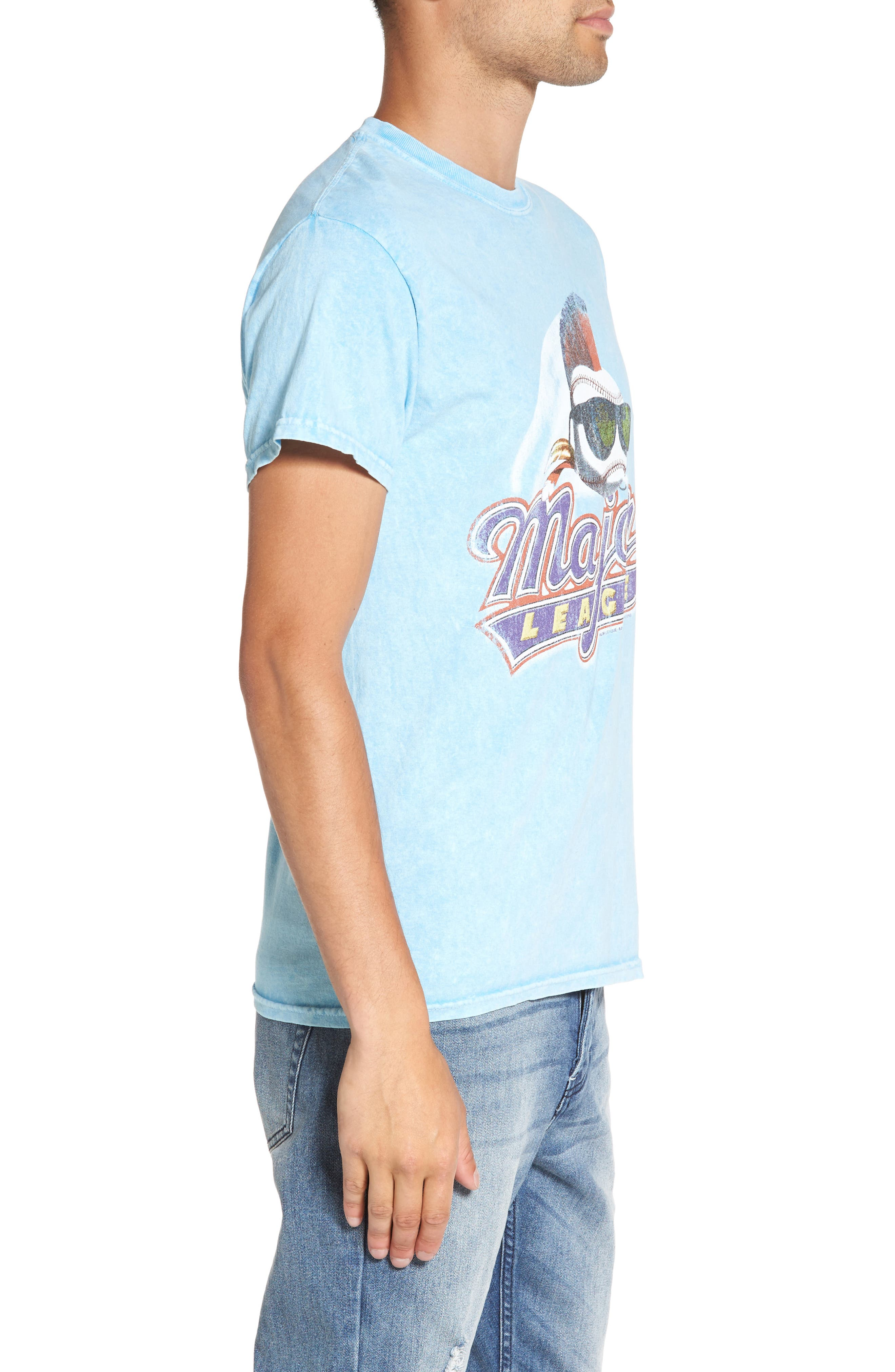 Alternate Image 3  - The Rail Washed Graphic T-Shirt
