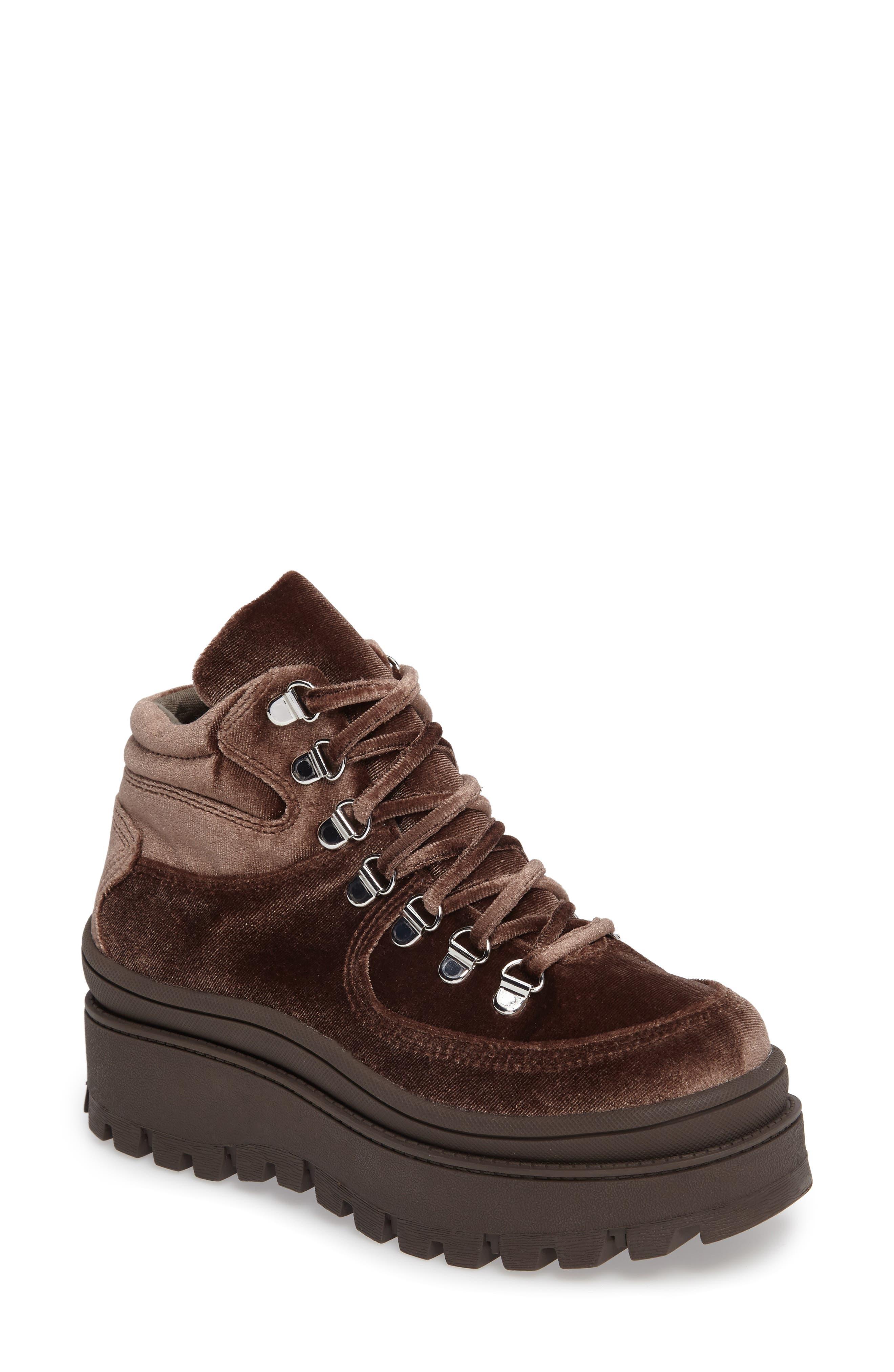 Alternate Image 1 Selected - Jeffrey Campbell Top Peak Platform Sneaker (Women)