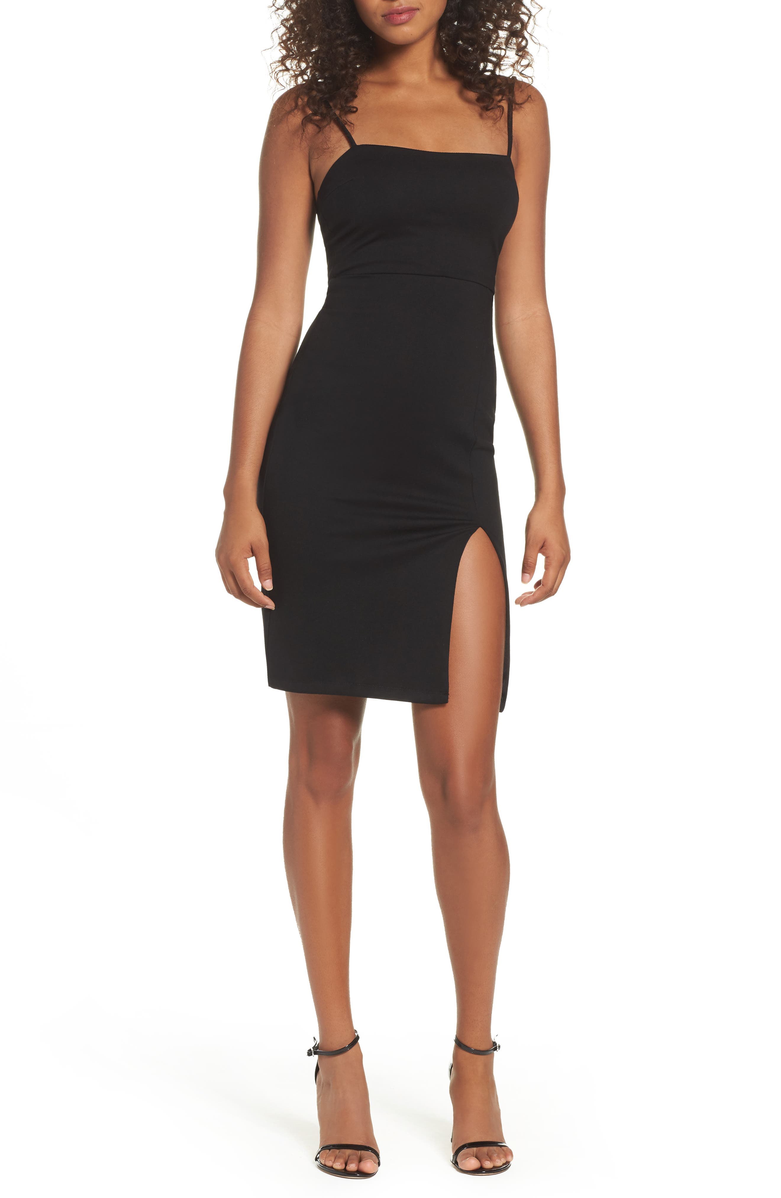 Lulus Don't Let Me Down Body-Con Dress