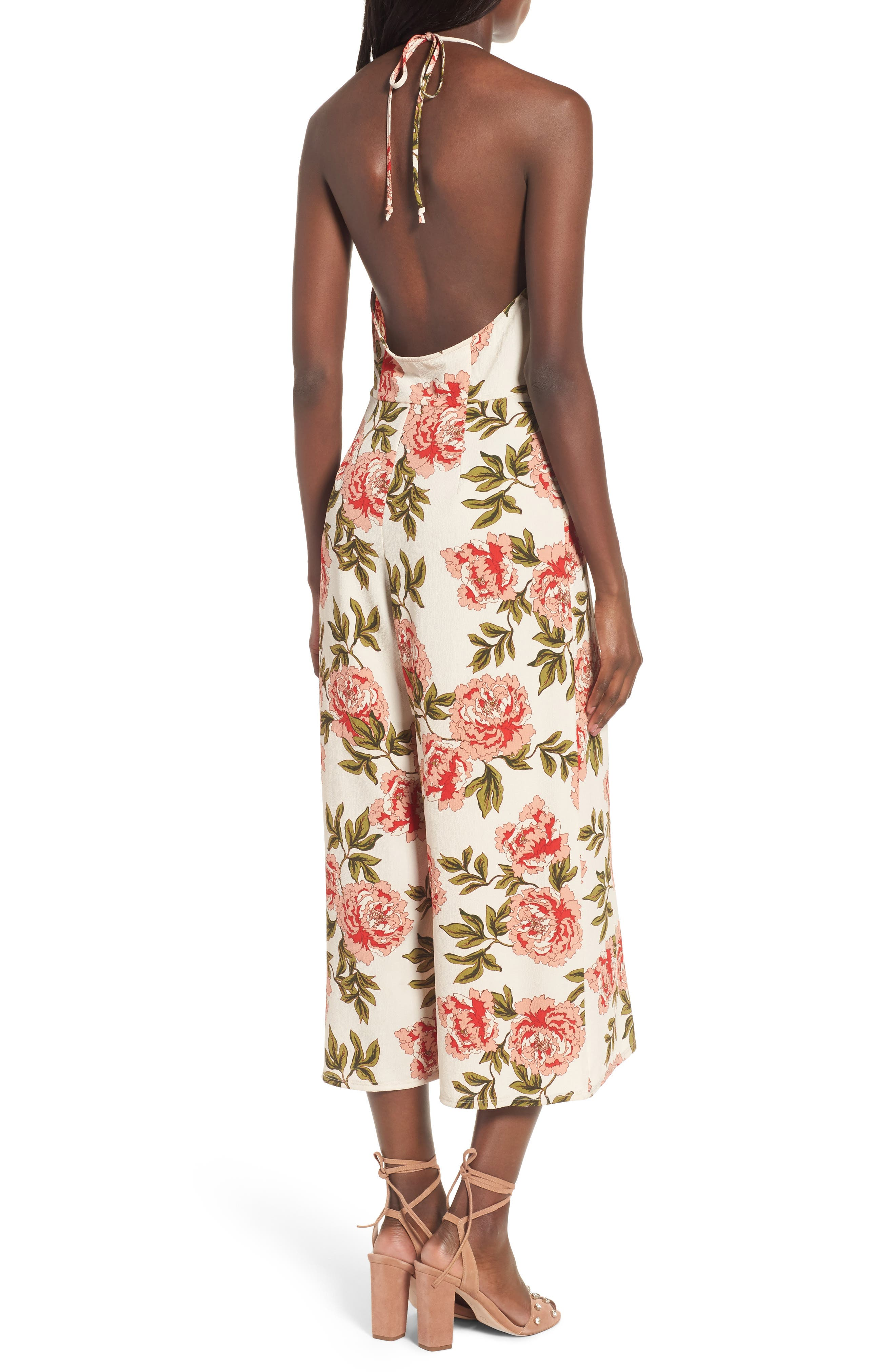 Alternate Image 2  - Show Me Your Mumu Julianne Crop Jumpsuit