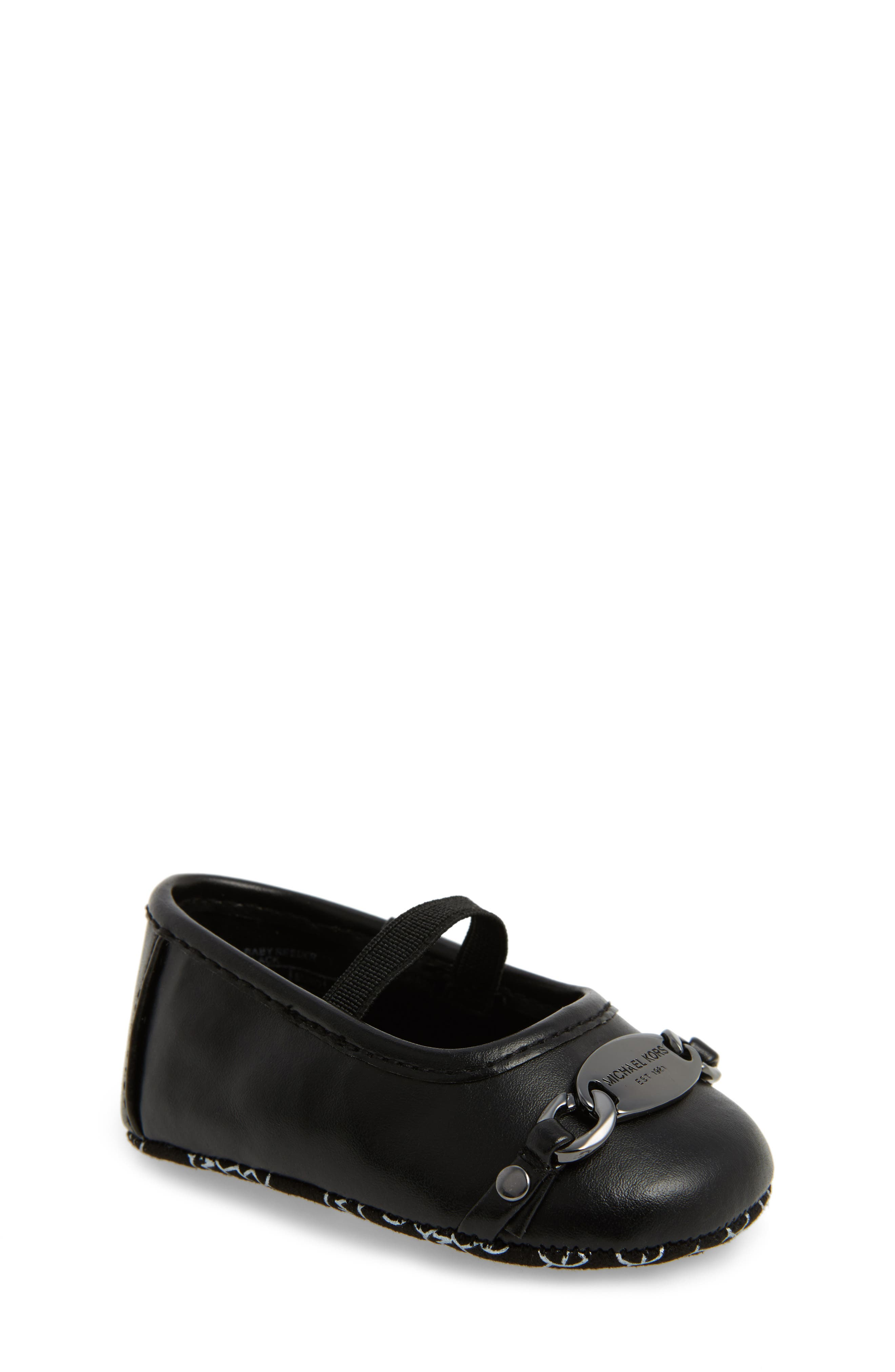 MICHAEL Michael Kors Baby Reeder Crib Shoe (Baby)