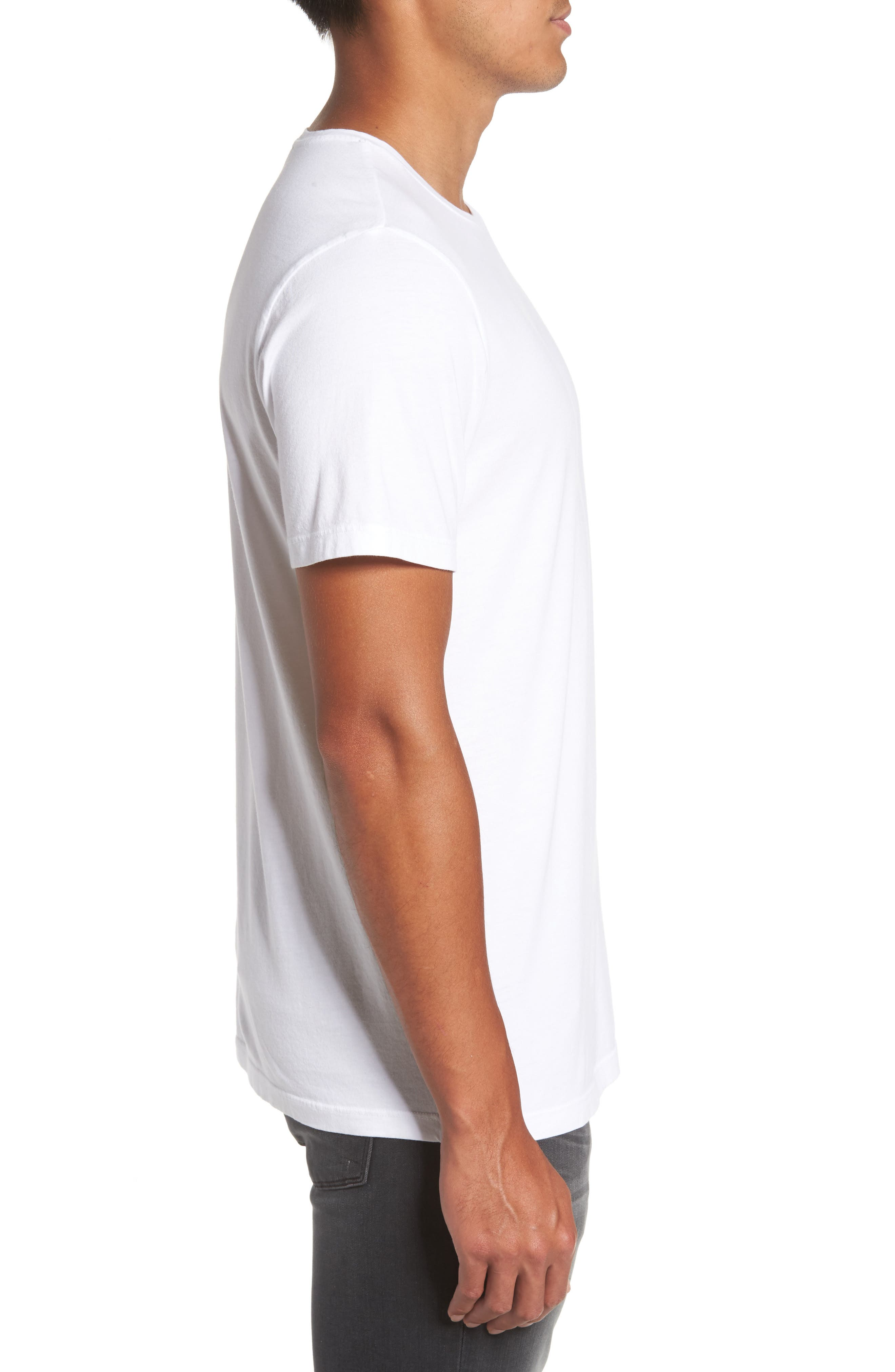 Alternate Image 3  - PAIGE Cash Crewneck T-Shirt
