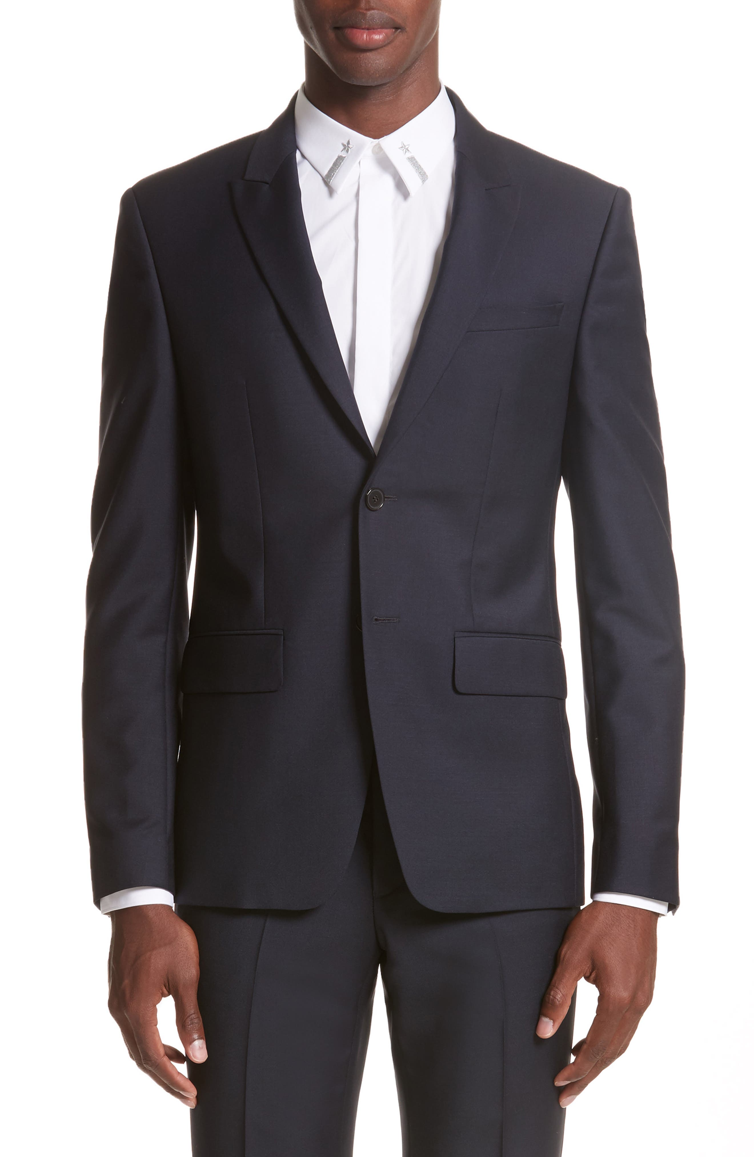 Alternate Image 5  - Givenchy Wool & Mohair Suit