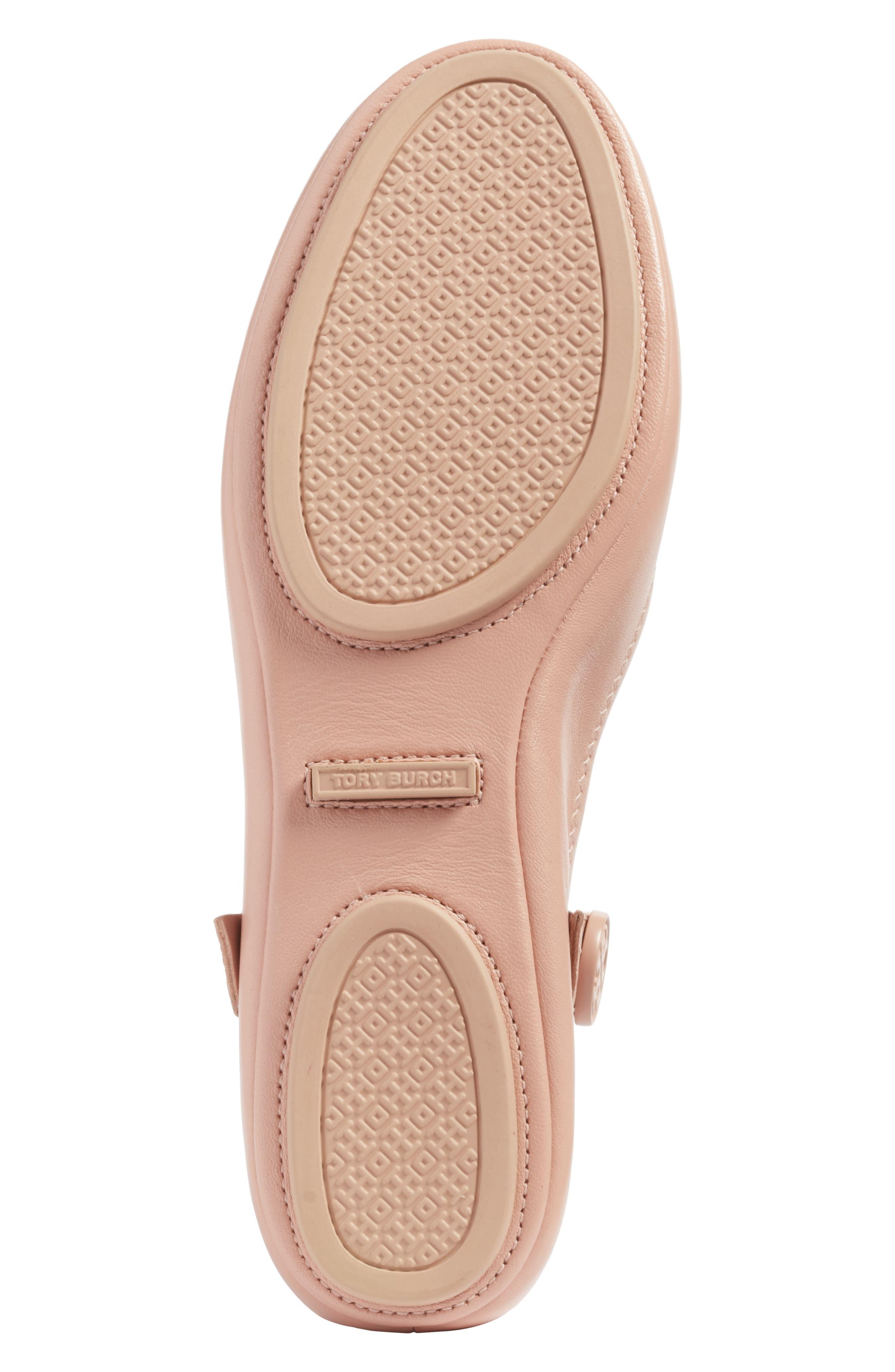 Alternate Image 7  - Tory Burch Minnie Embellished Convertible Strap Ballet Flat (Women)