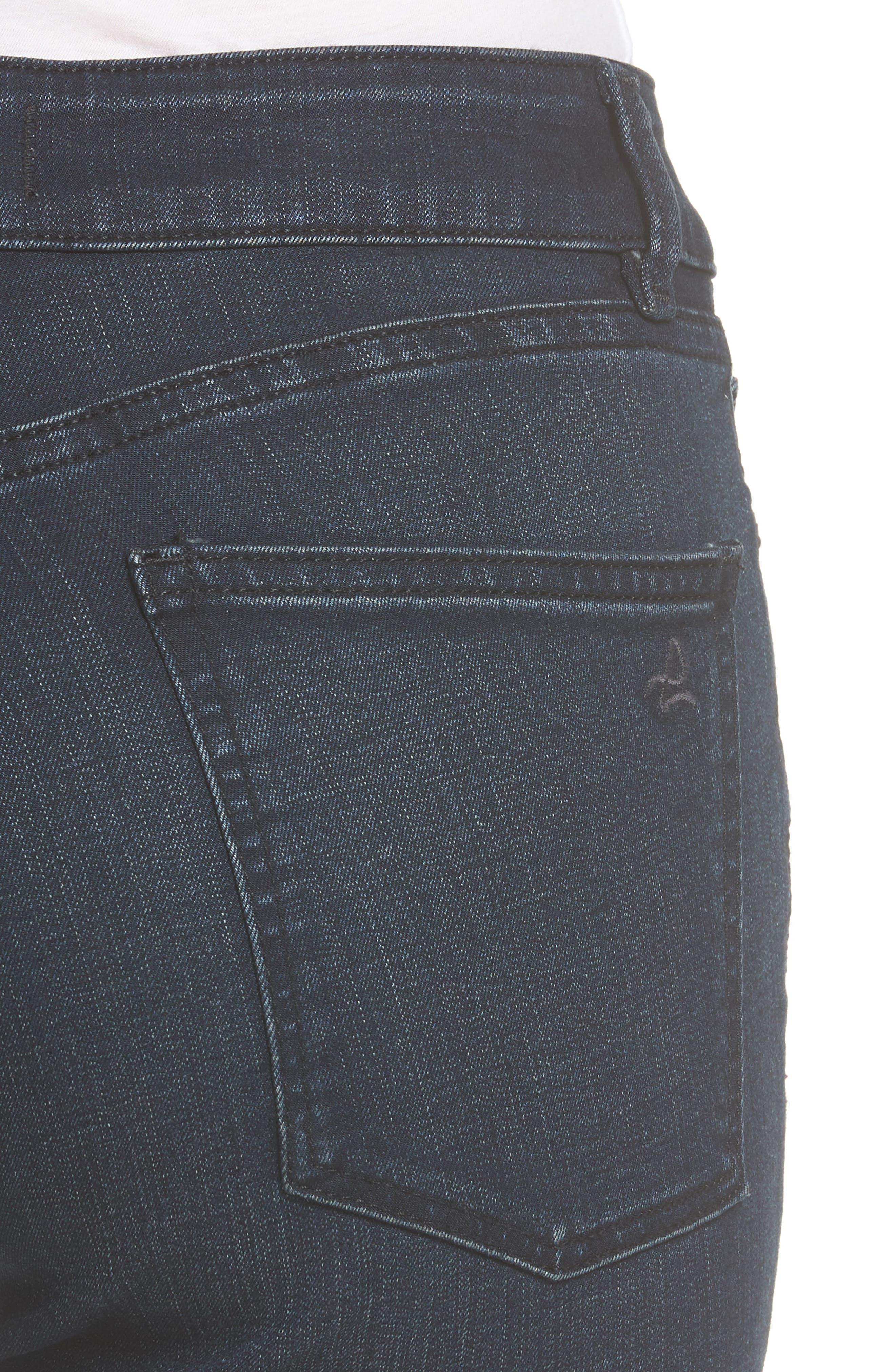 Farrow High Waist Instaslim Skinny Jeans,                             Alternate thumbnail 4, color,                             Equinox