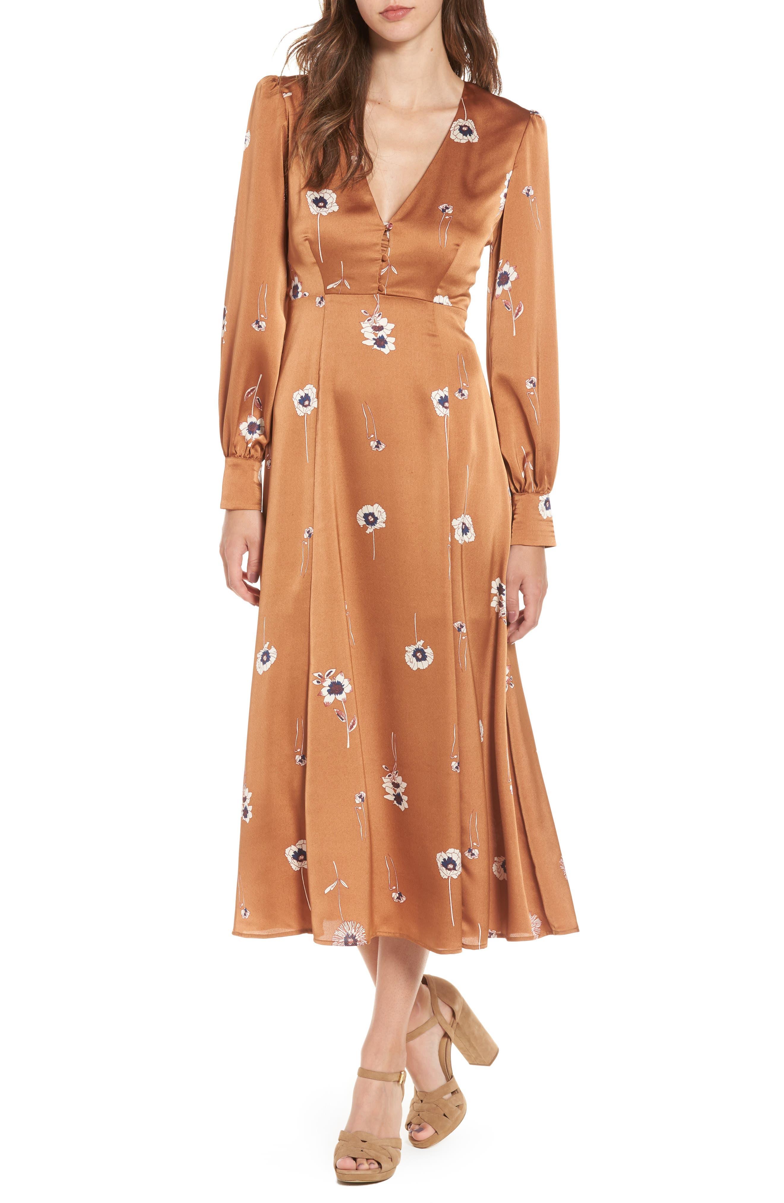 ASTR the Label Jewel A-Line Dress