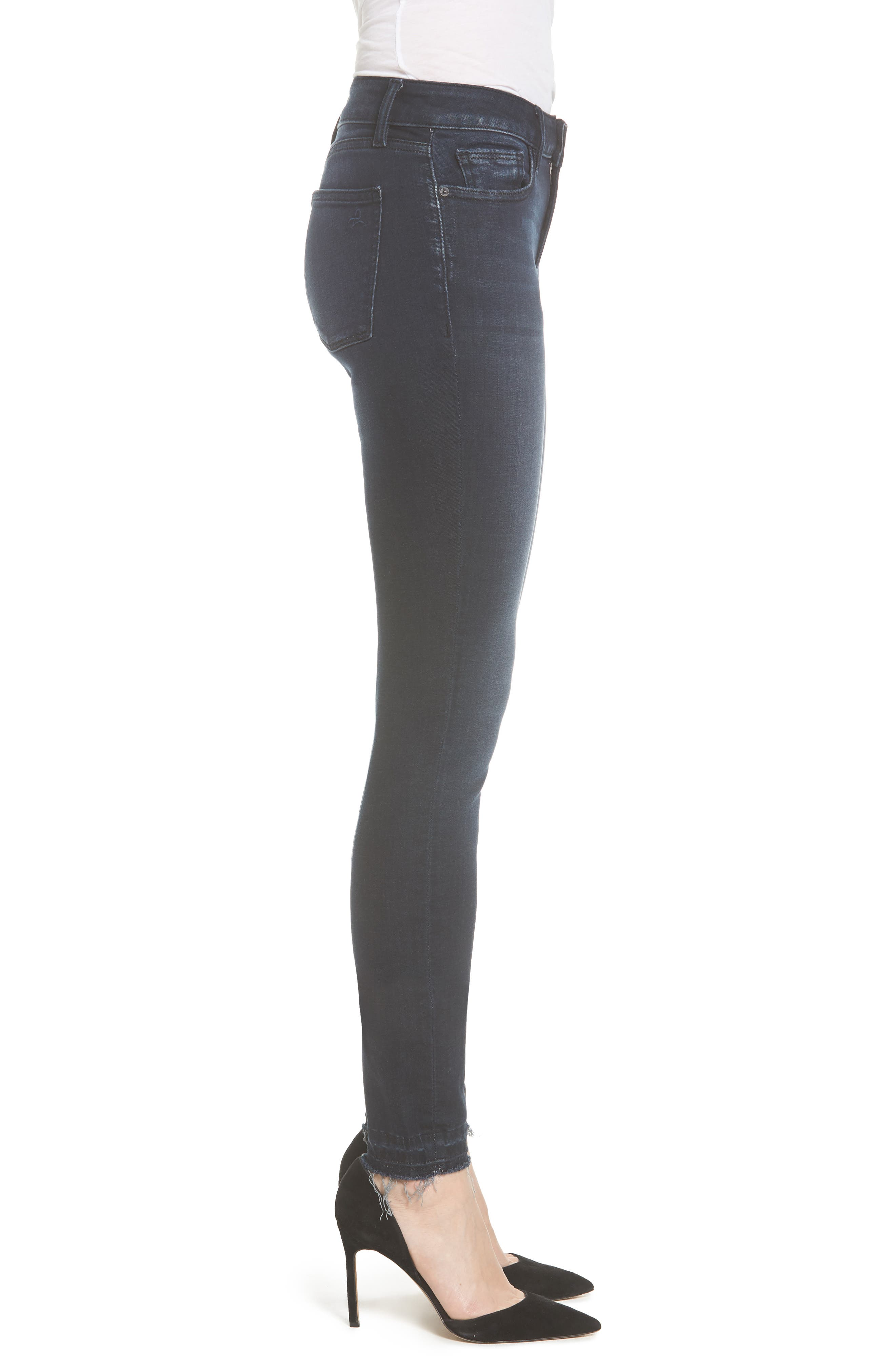 Florence Instasculpt Skinny Jeans,                             Alternate thumbnail 3, color,                             Sloan