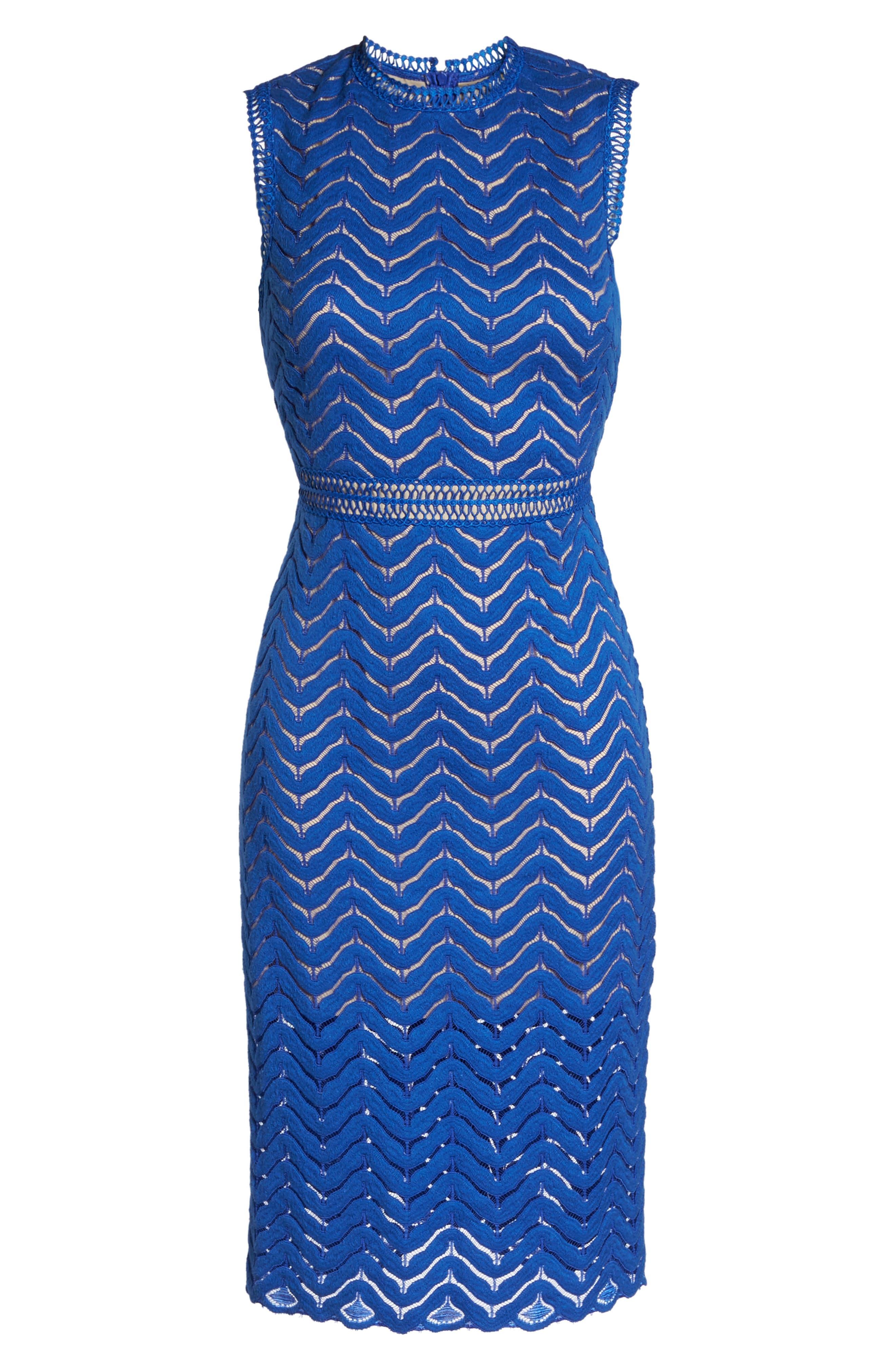 Alternate Image 6  - Chelsea28 Lace Sheath Dress