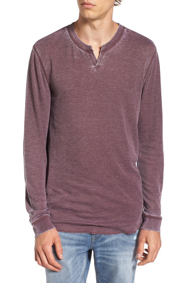 Main Image - The Rail Notch Neck Thermal T-Shirt