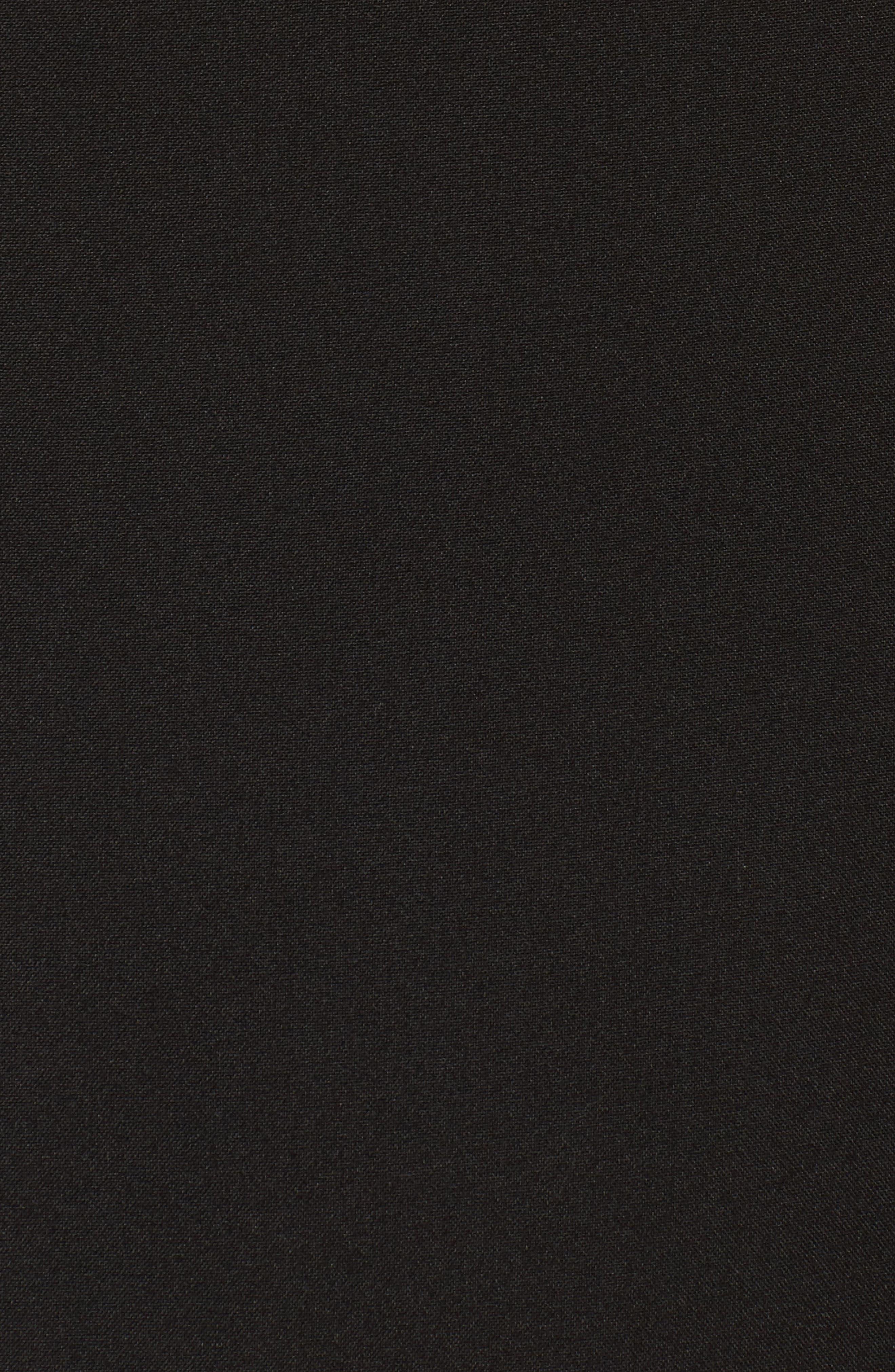 Sheath Dress,                             Alternate thumbnail 5, color,                             Black