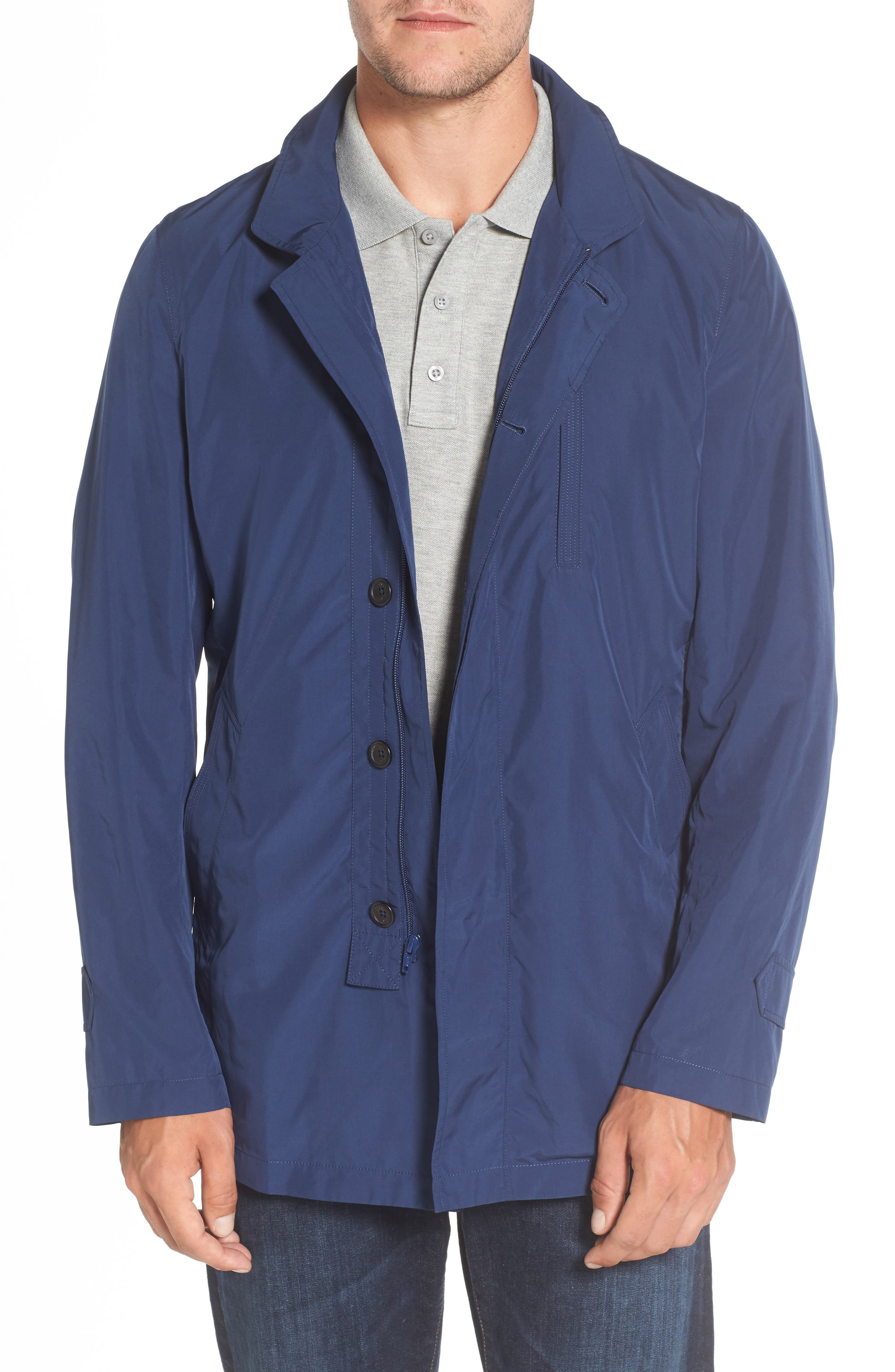 Alternate Image 1 Selected - Sanyo Packable Rain Coat