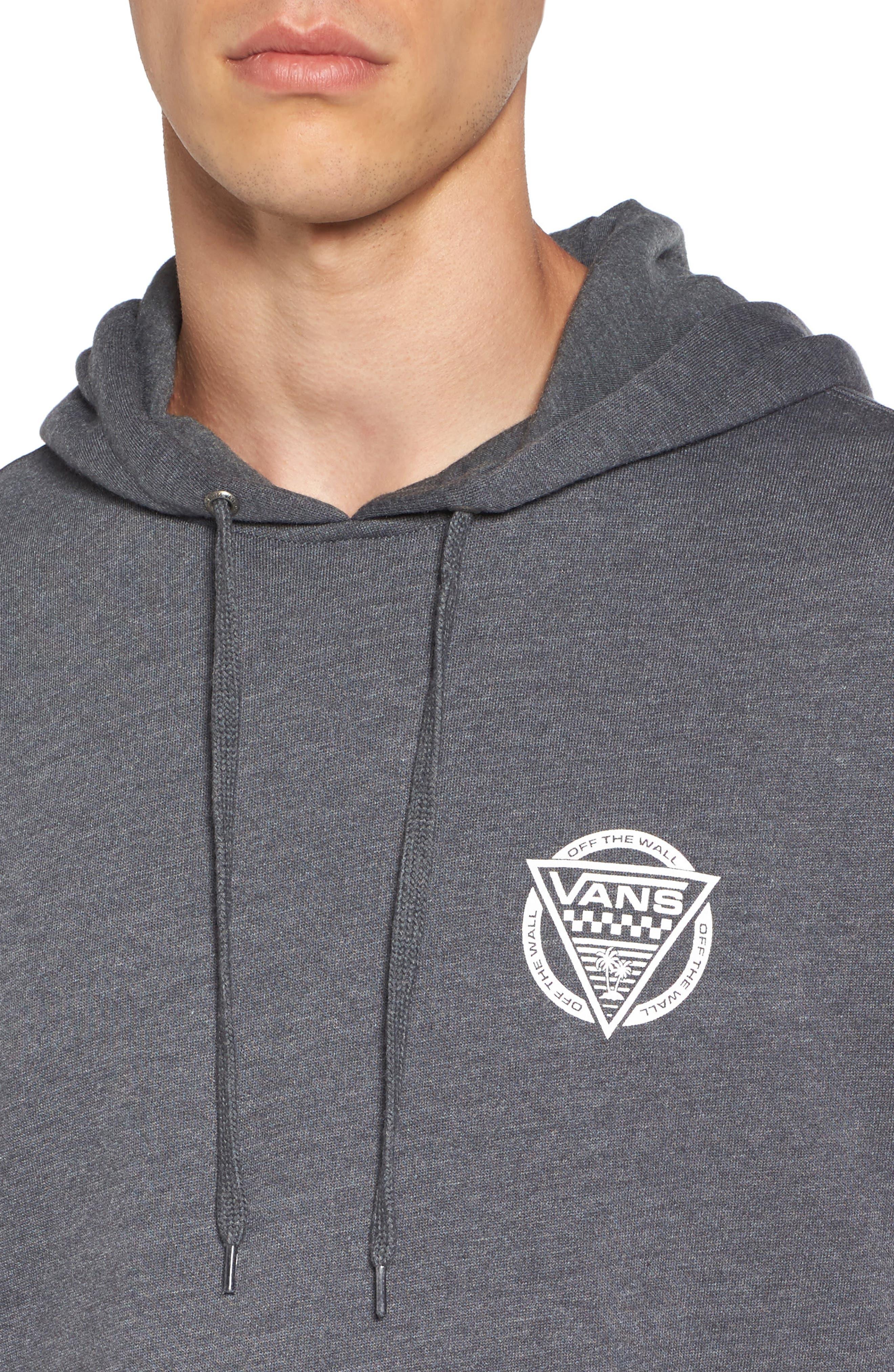 Alternate Image 4  - Vans New Oldskool Logo Graphic Pullover Hoodie