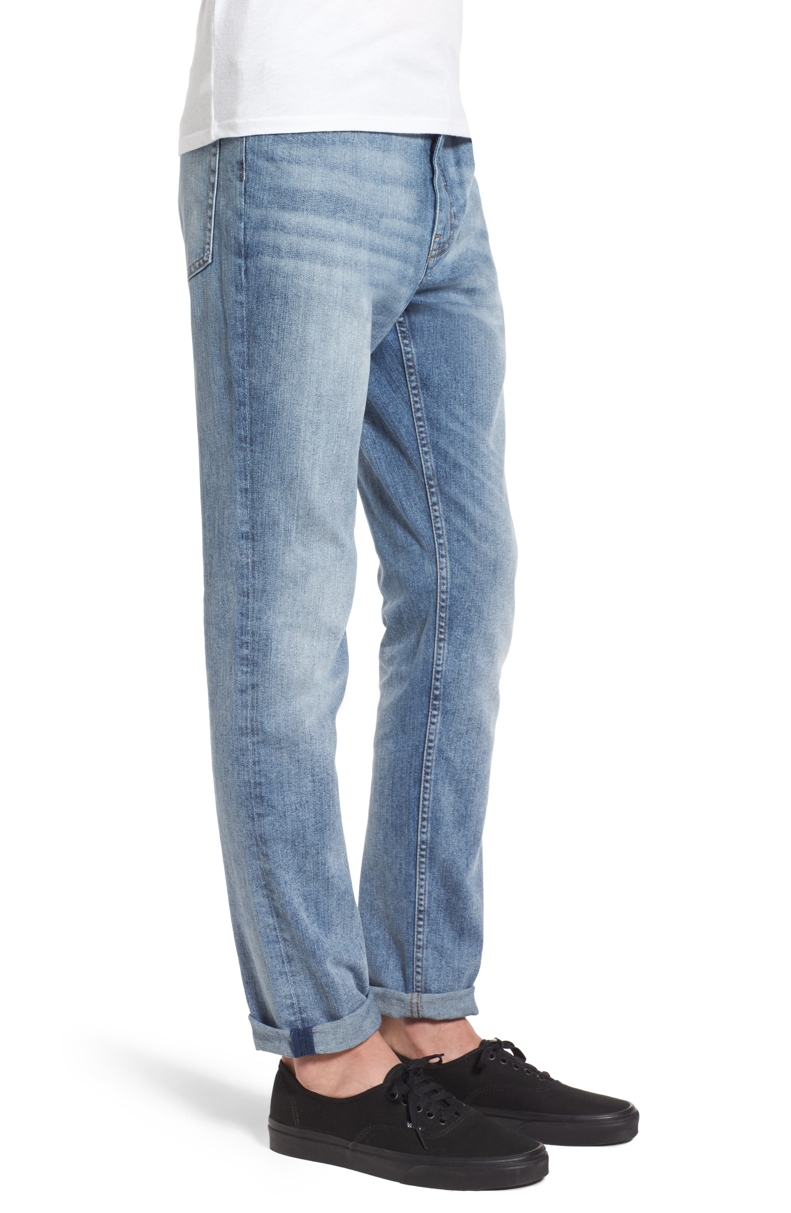 Alternate Image 3  - Cheap Monday Sonic Skinny Fit Jeans (Treble Blue)