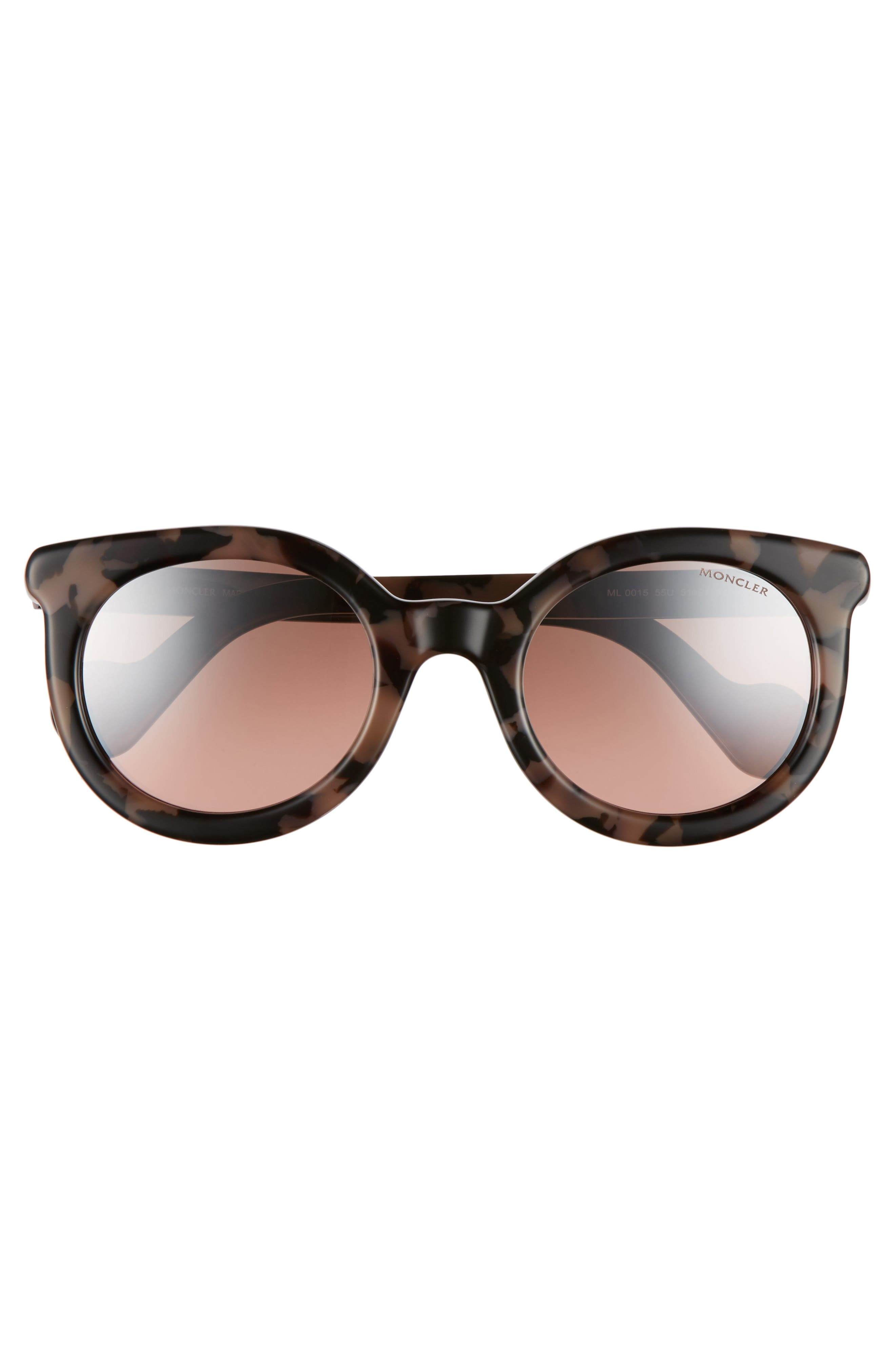 Alternate Image 2  - Moncler 51mm Sunglasses