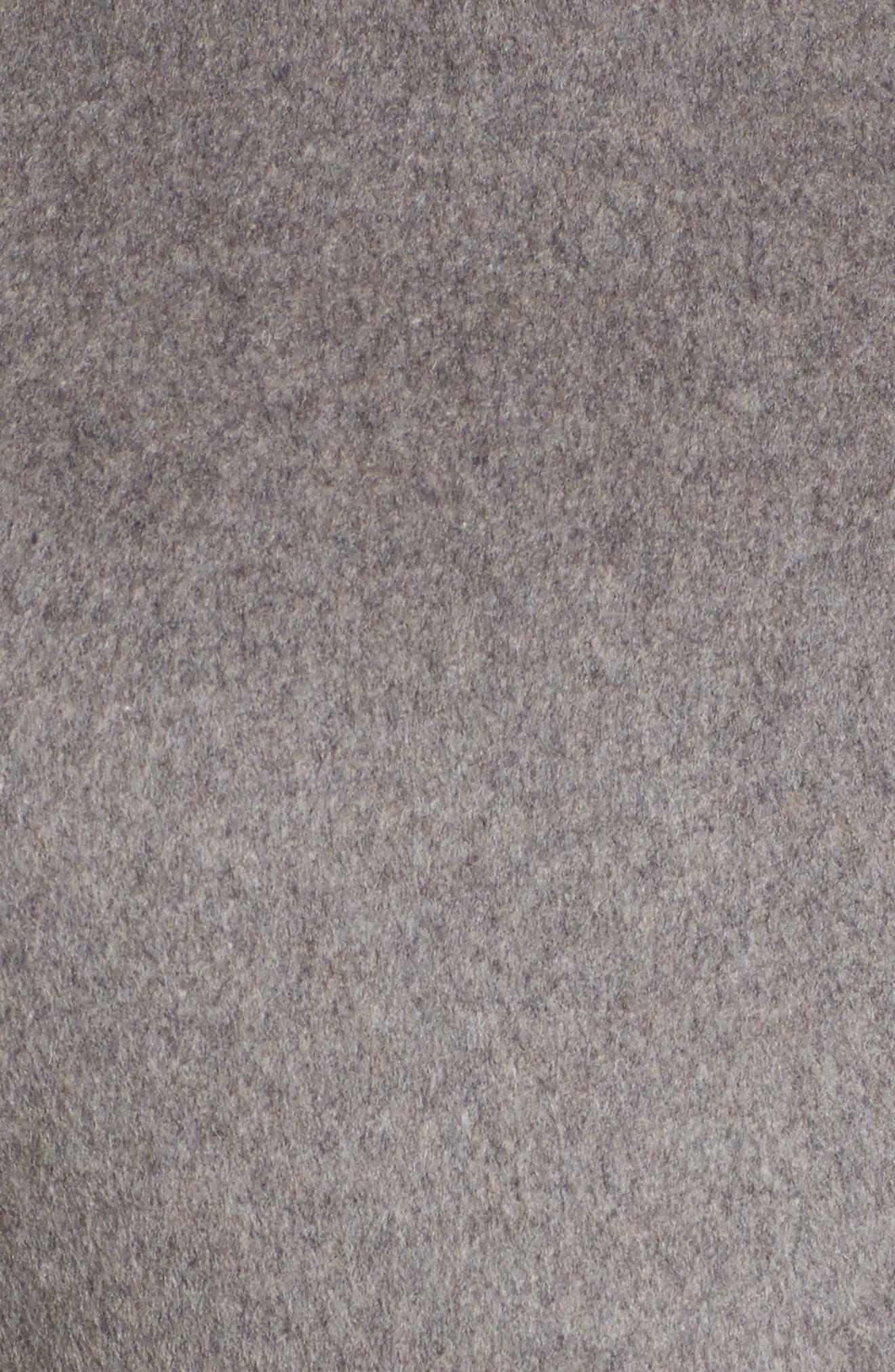 Alternate Image 5  - Cole Haan Belted Asymmetrical Wool Coat