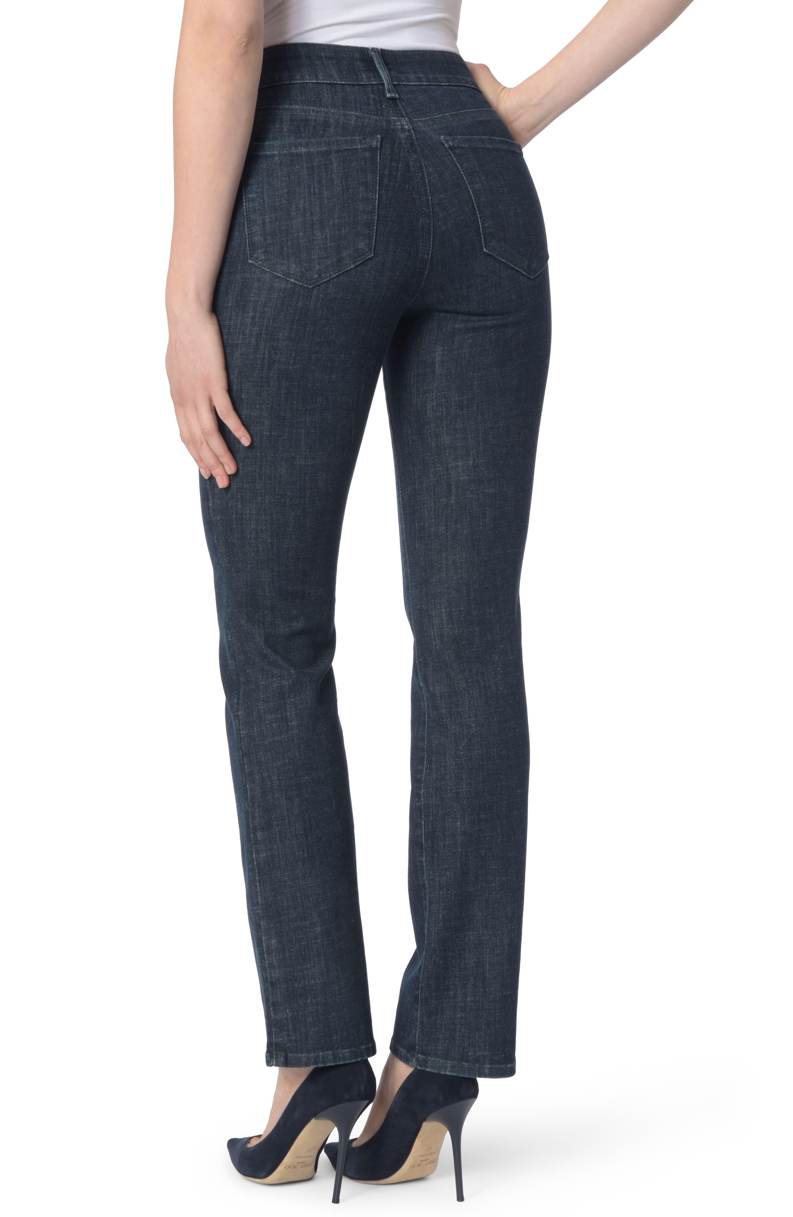 Alternate Image 2  - NYDJ Marilyn Stretch Straight Leg Jeans (Rambard)
